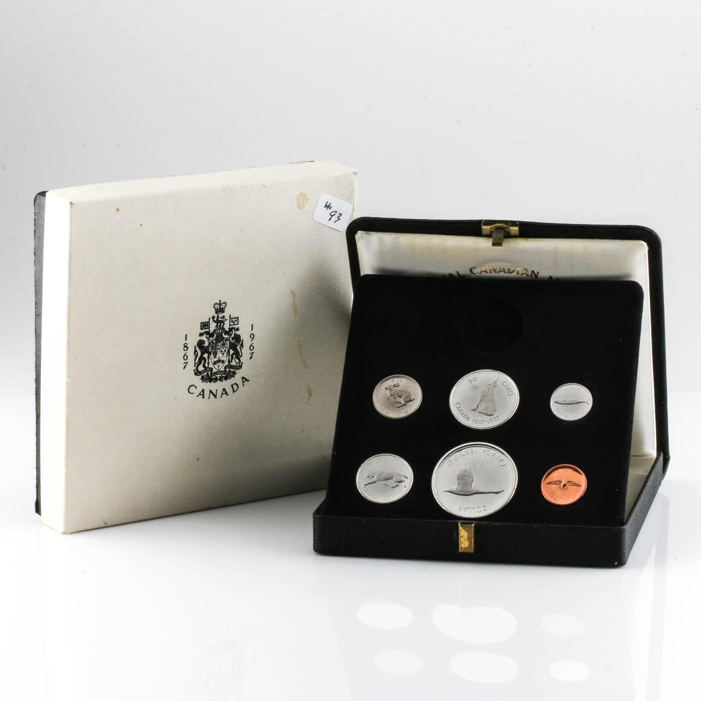 1967 Canadian Mint Set