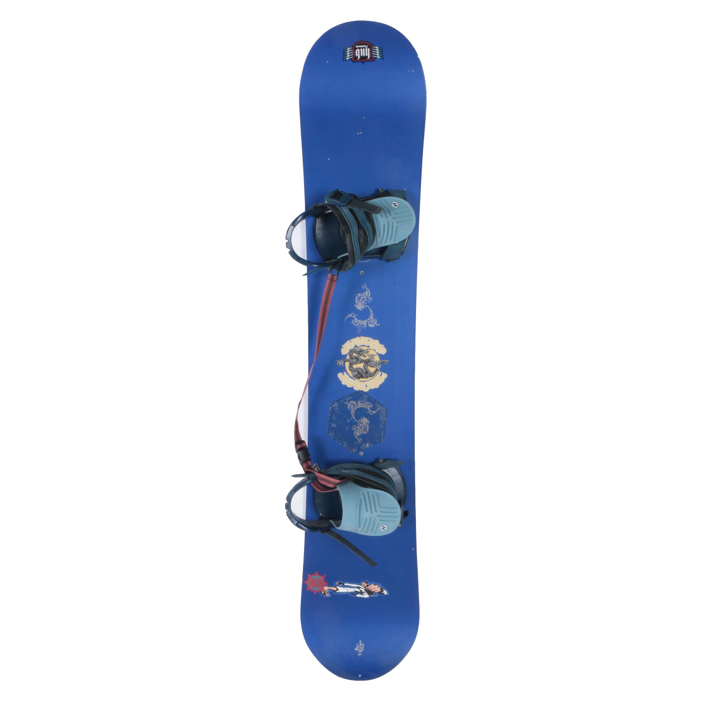 Hub Snowboard with Accessories
