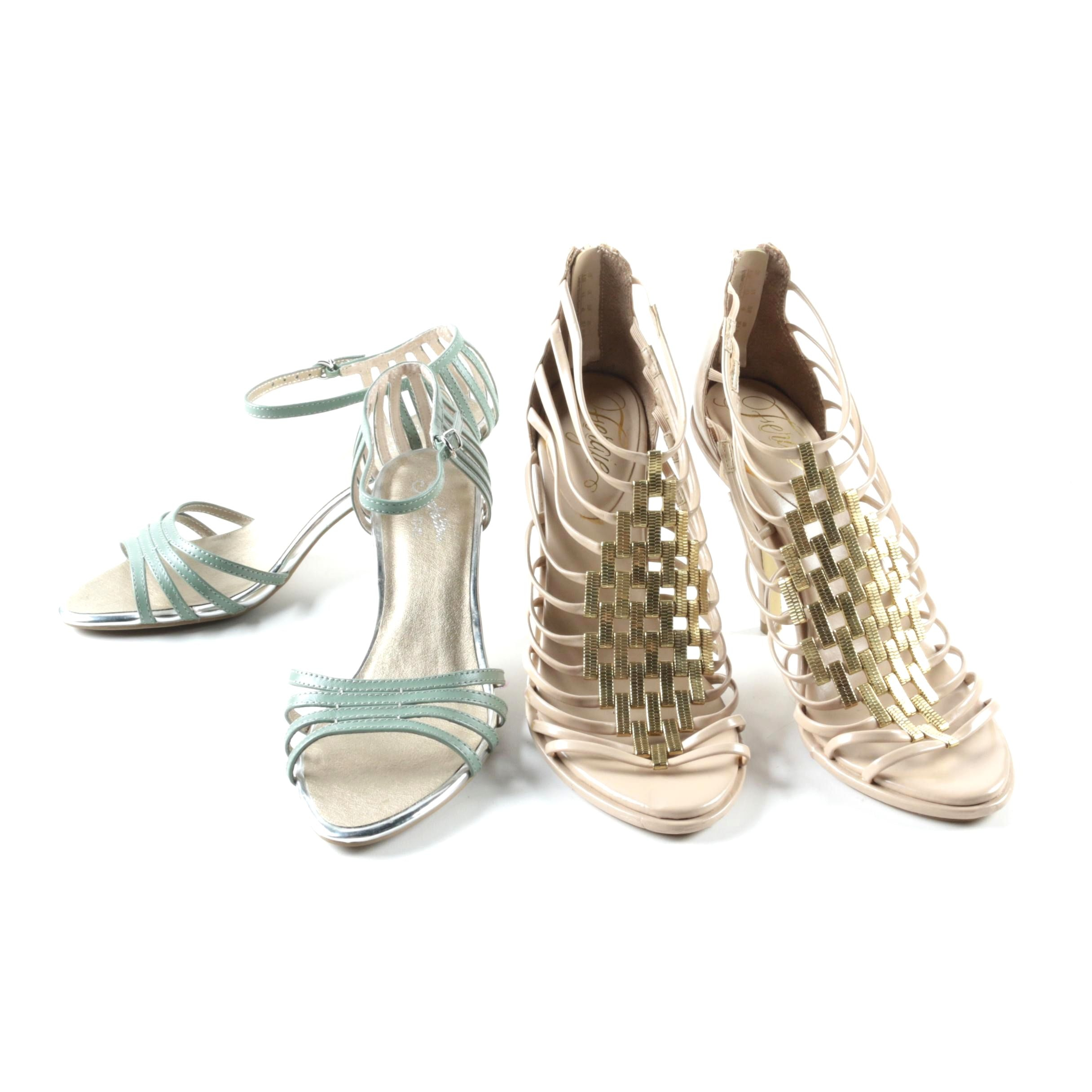 Women's Fergie and Seychelles High Heel Sandals