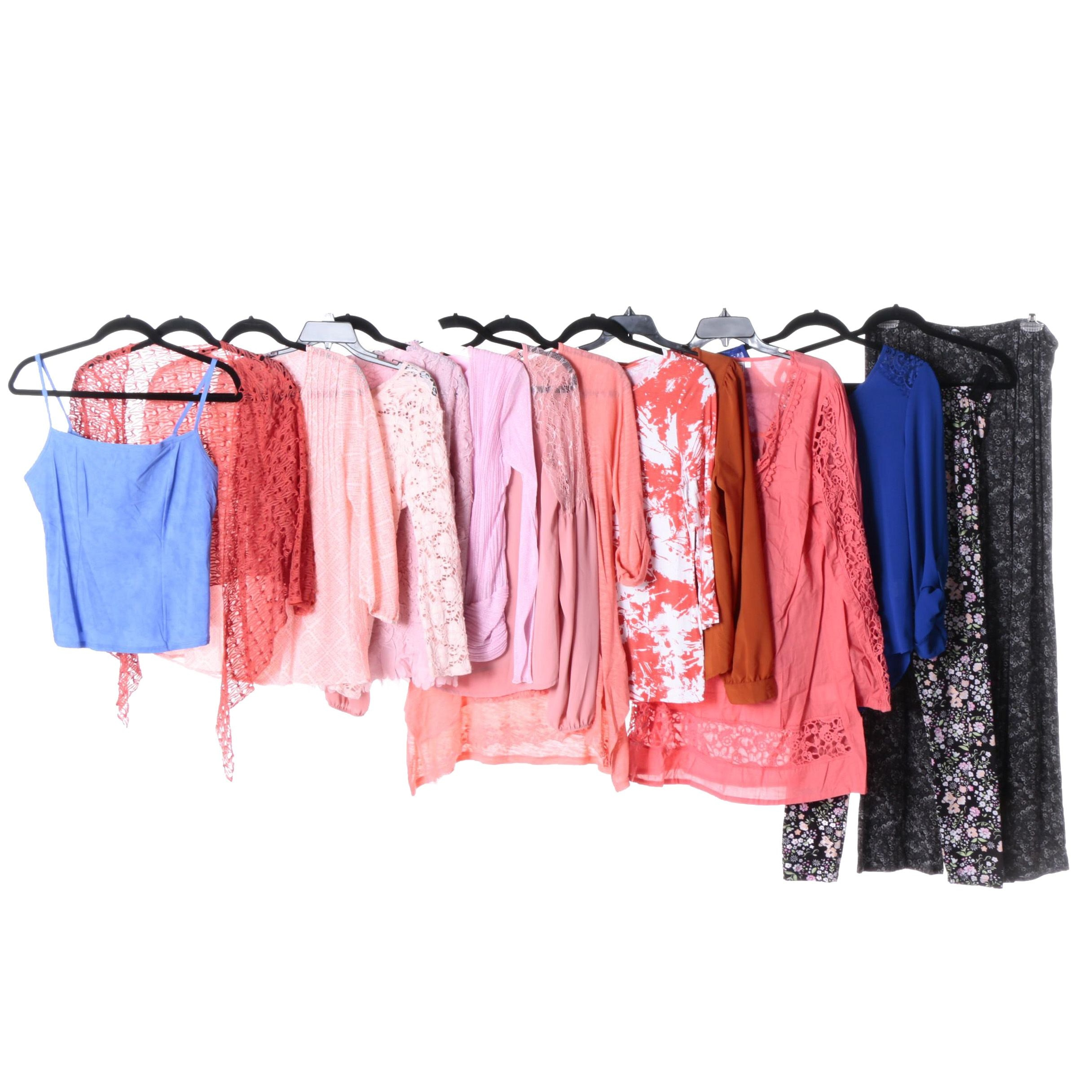 Women's Tops and Pants Including Rainbow and Essendi
