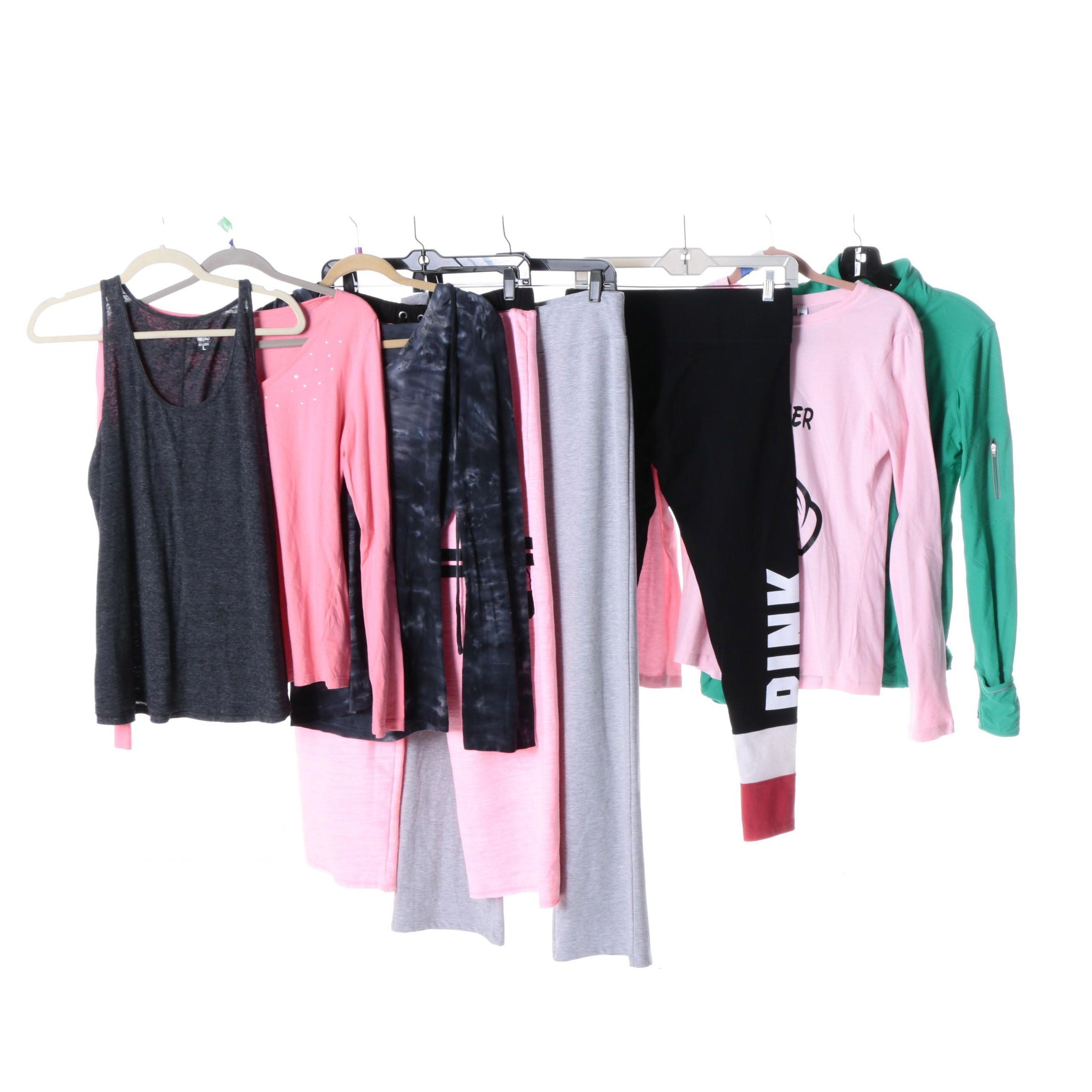 Women's Activewear Including Pink, Kirkland Signature and Mossimo