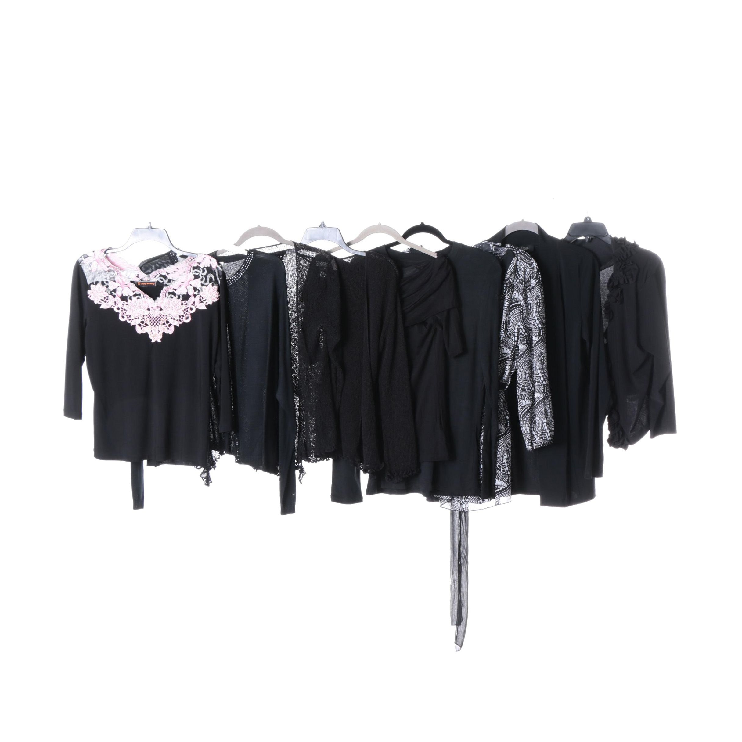 Women's Tops Separates in Black