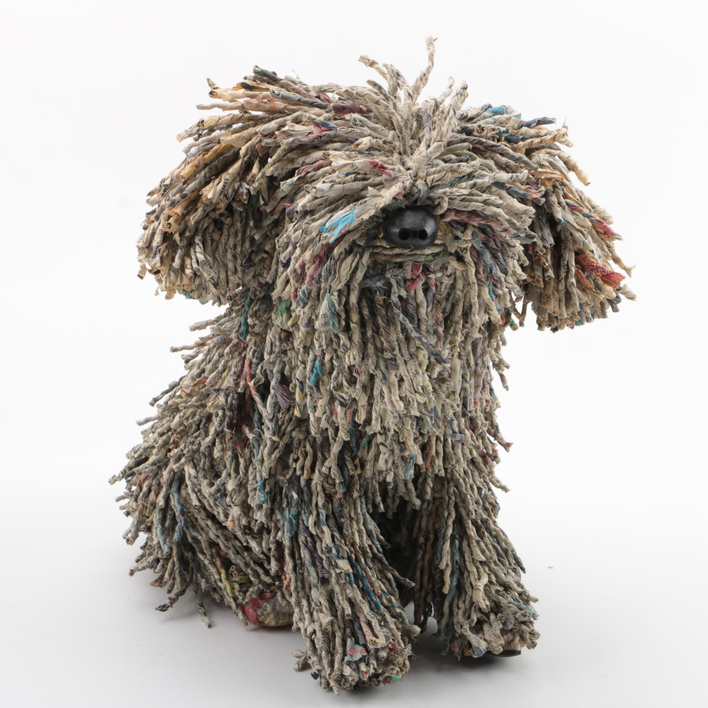 Hungarian Puli Paper Dog