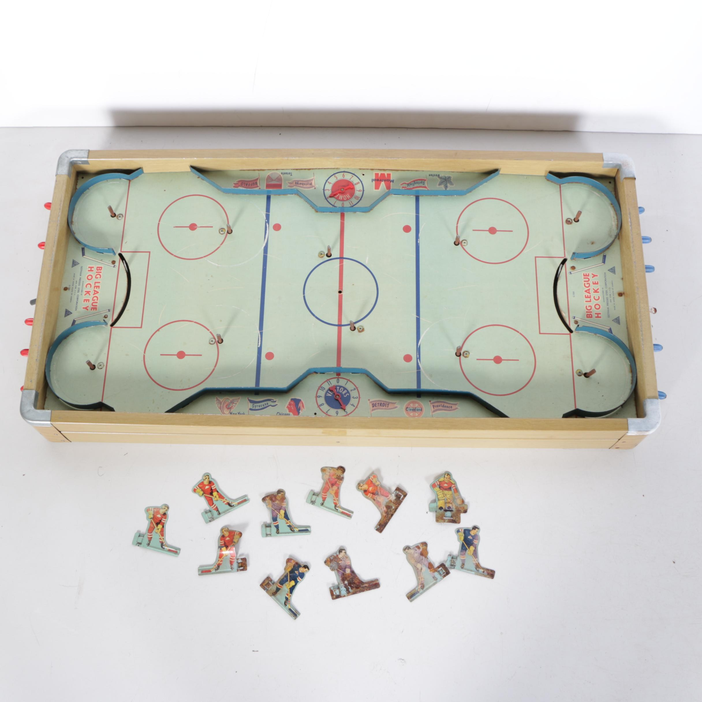 "1950s–60s Gotham Pressed Steel Corporation ""Big League Hockey"" Game"