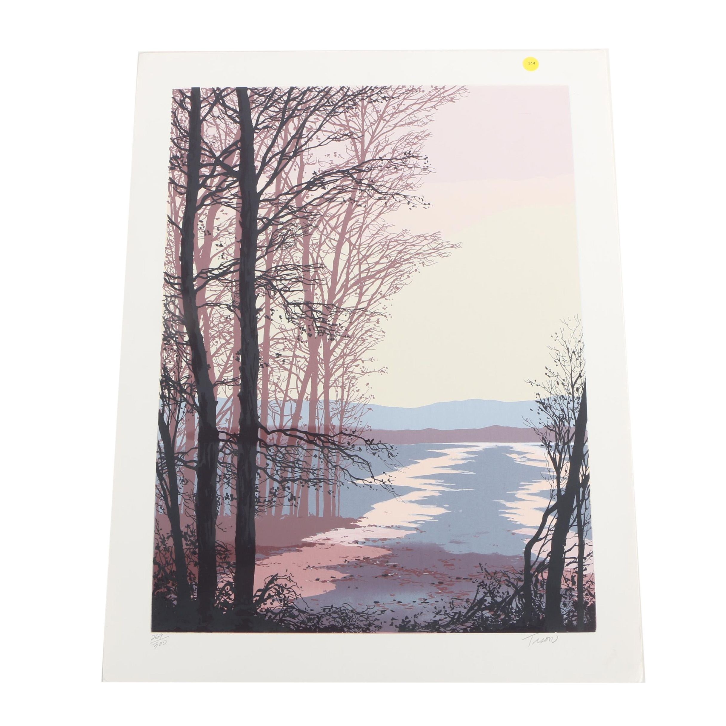 Tison Limited Edition Serigraph of Nature