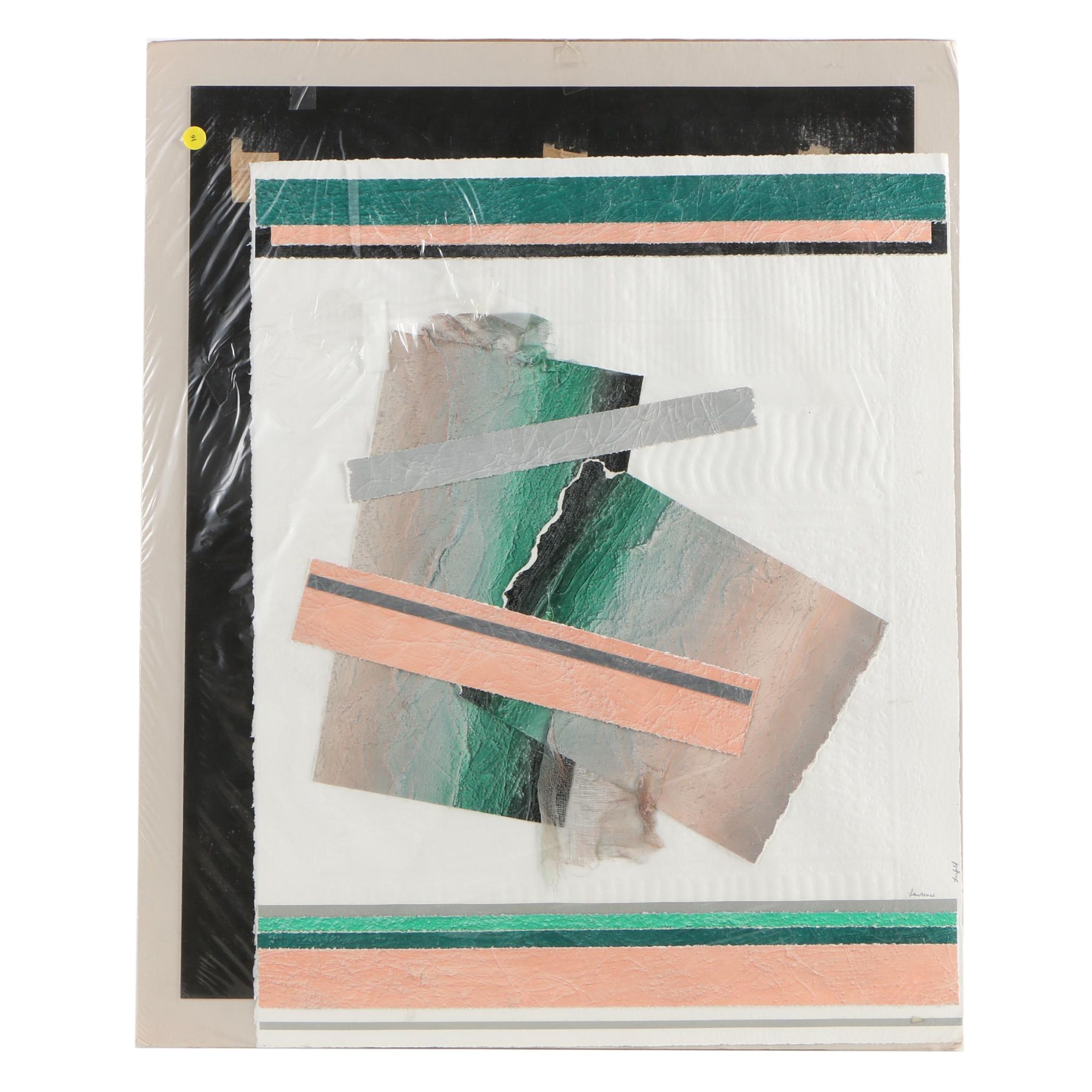 Lawrence Lerfald Mixed Media Abstract Construction