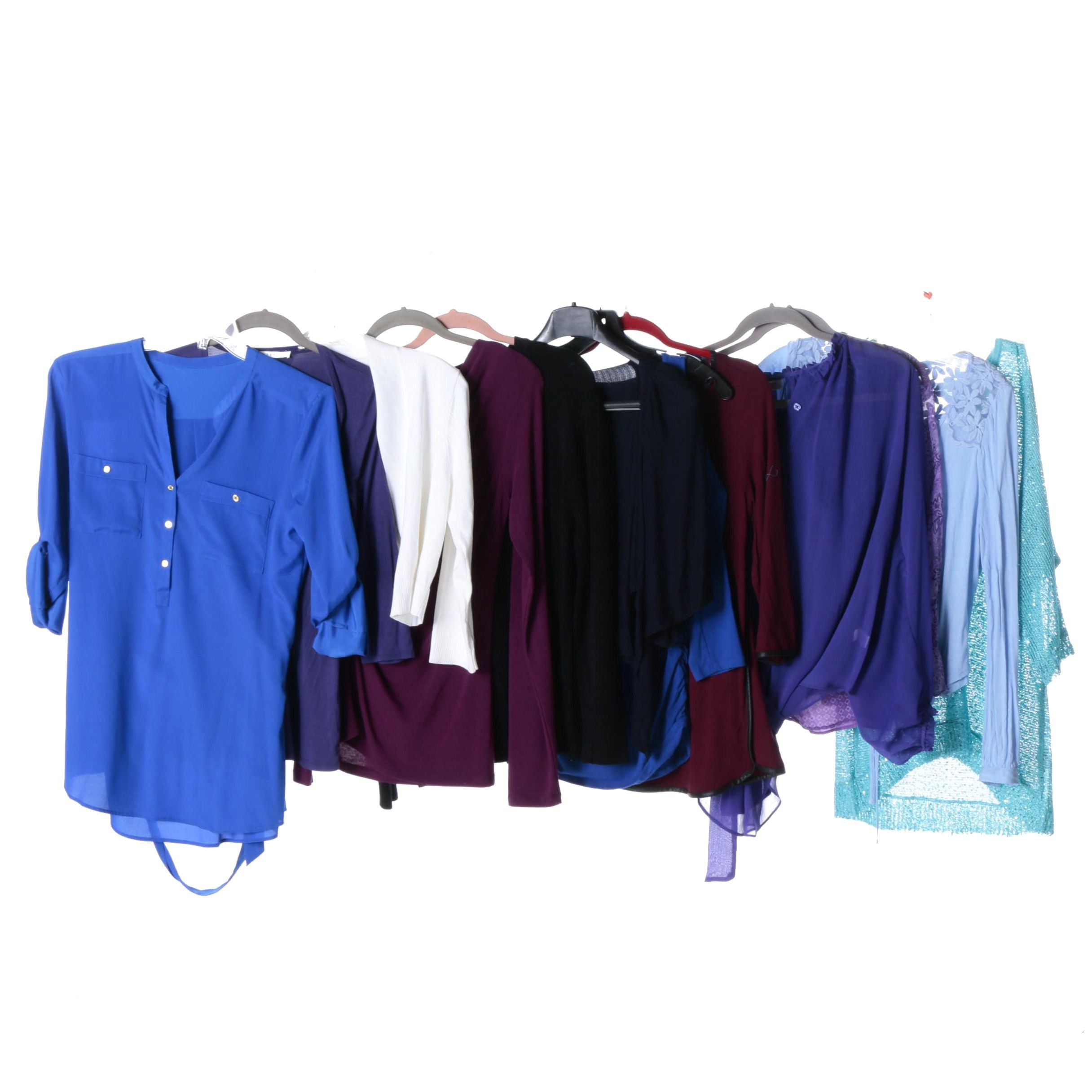 Women's Colorful Blouses and Tops