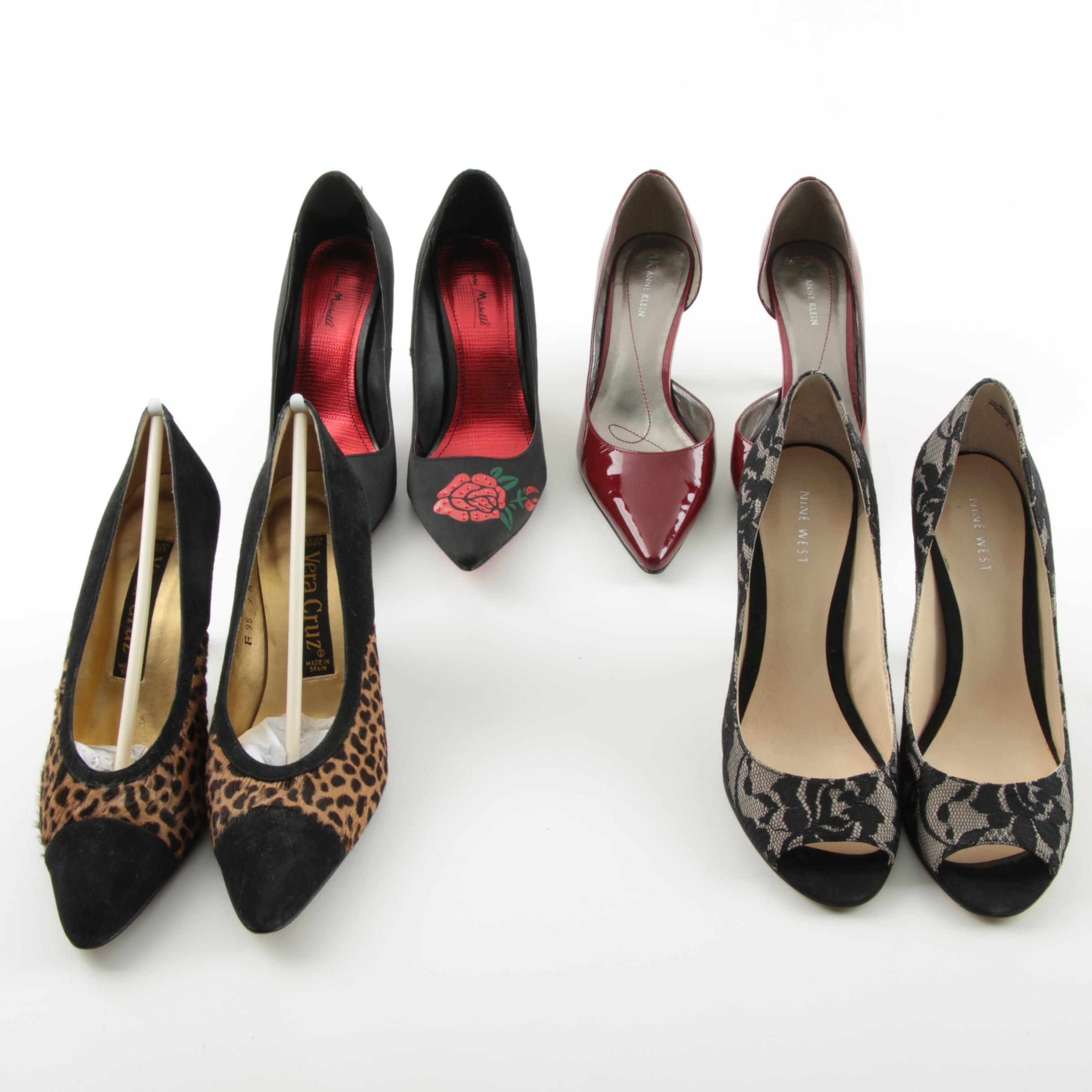 Women's High Heels, Including Nine West and Anne Klein
