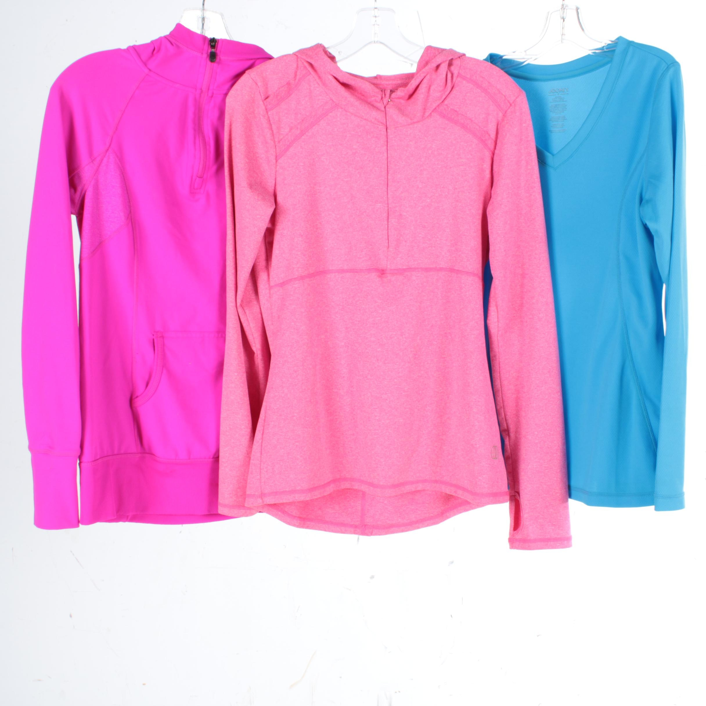 Women's Activewear Pullovers Including Jockey and Kyodan