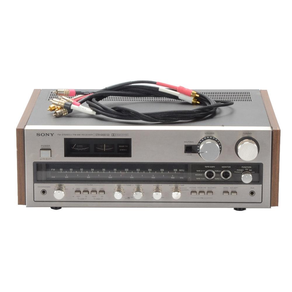 Sony STR-6800 Stereo Receiver