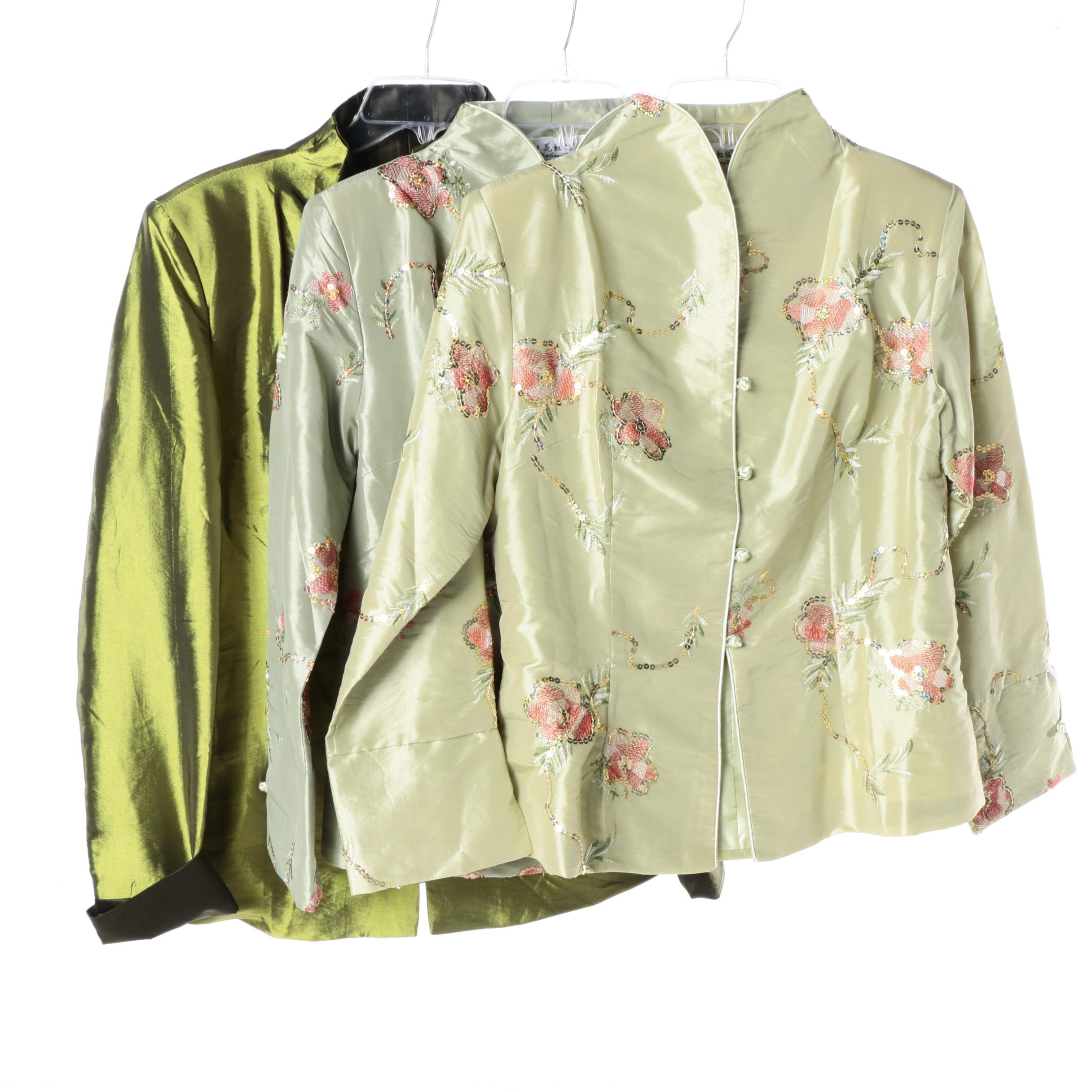 Women's Asian Inspired Brocade Style Jackets