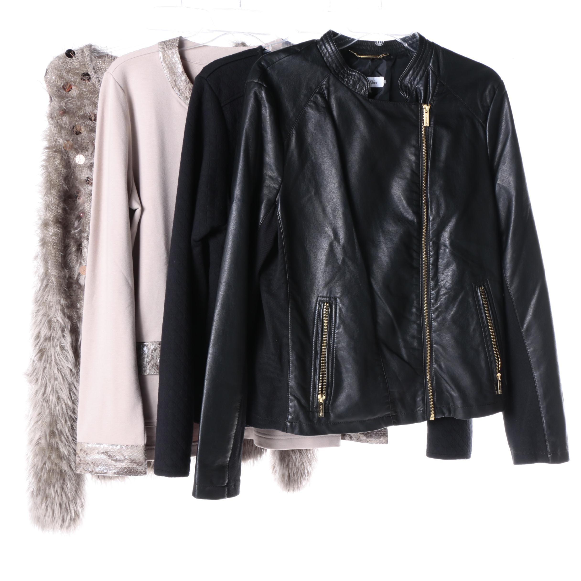 Women's Cardigans and Jackets Including Calvin Klein