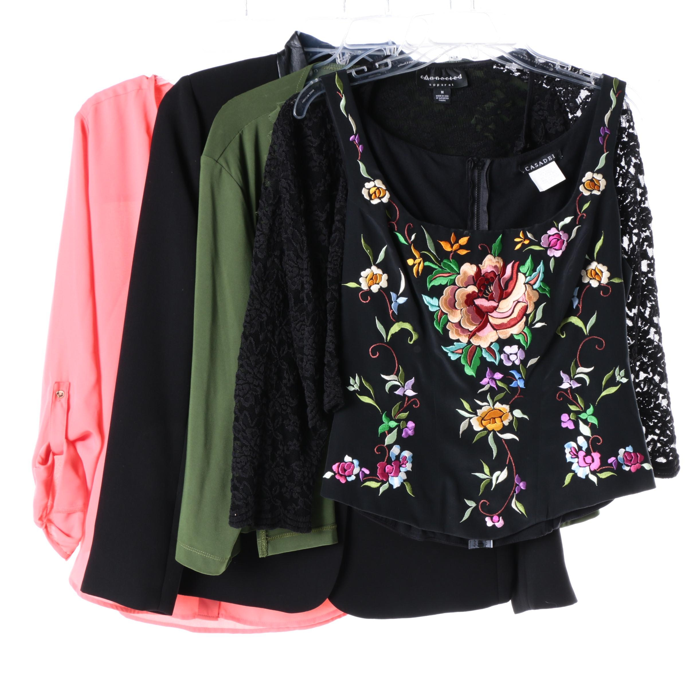 Women's Shirts and Jackets Including Casadei