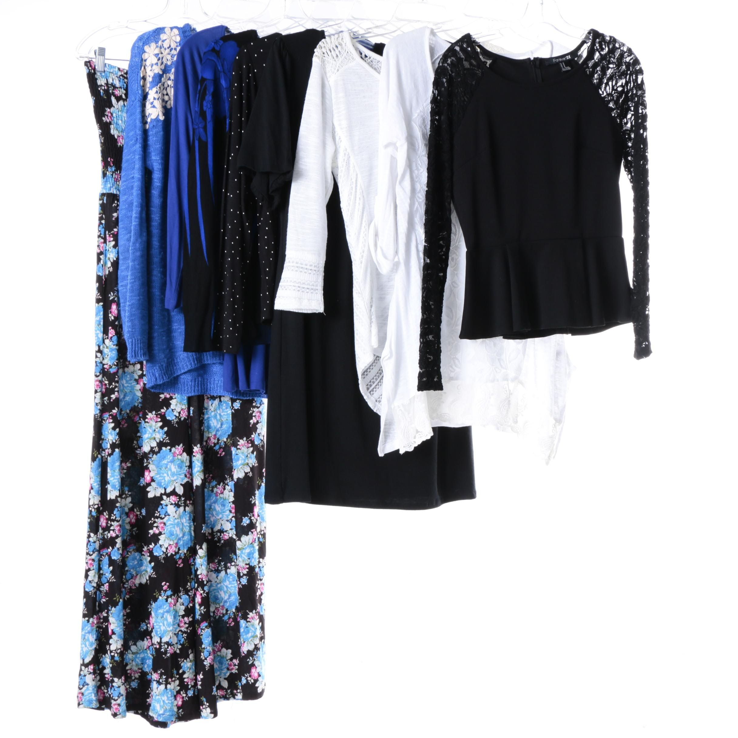 Women's Clothing Including Bongo and Forever 21