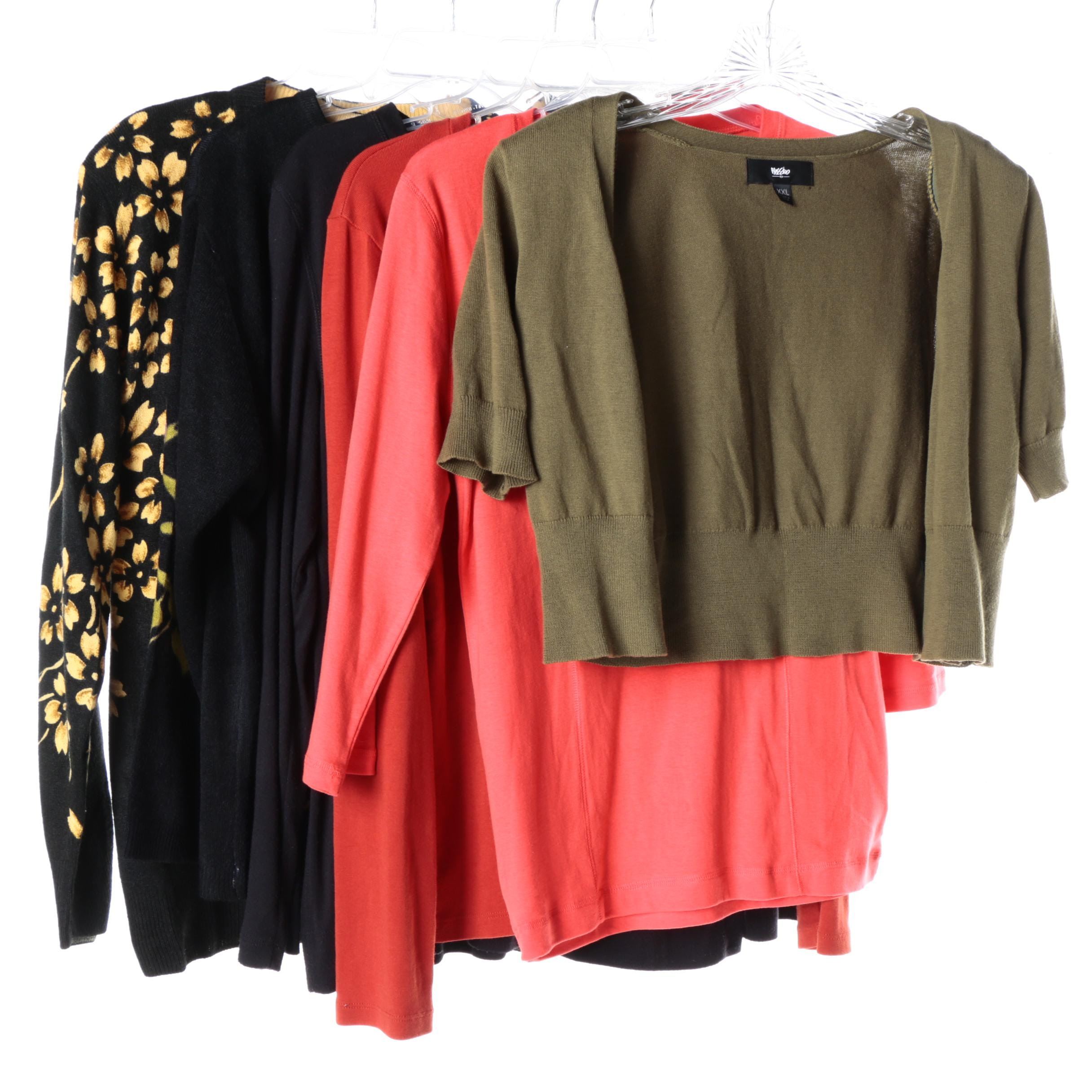 Women's Sweaters and Shirts Including Simply Vera Vera Wang and Mossimo