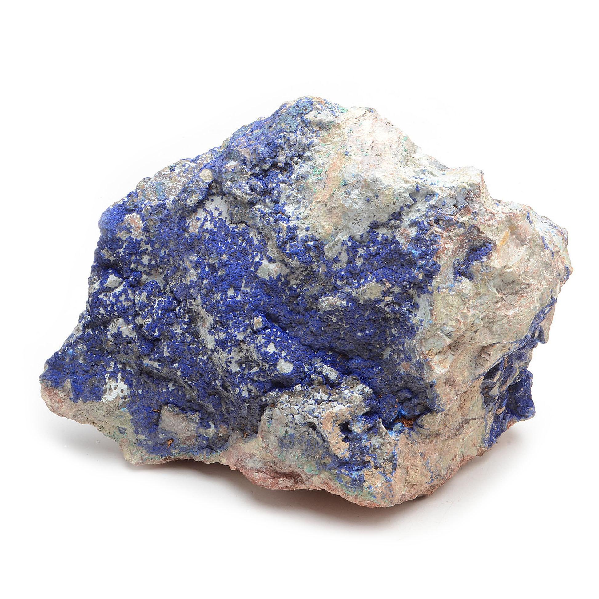 Cabinet Display Mineral Specimen of Azurite