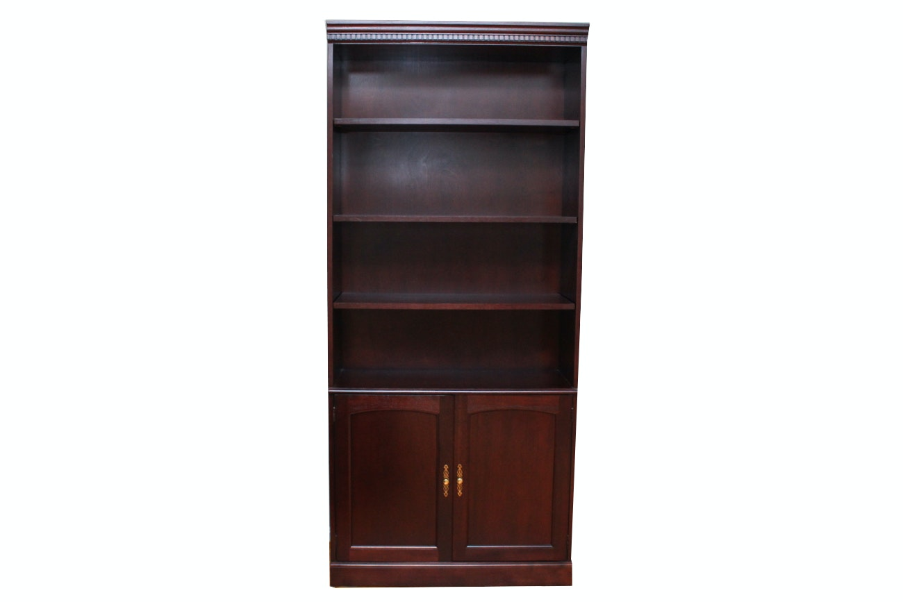 Cherry Cabinet Bookcase