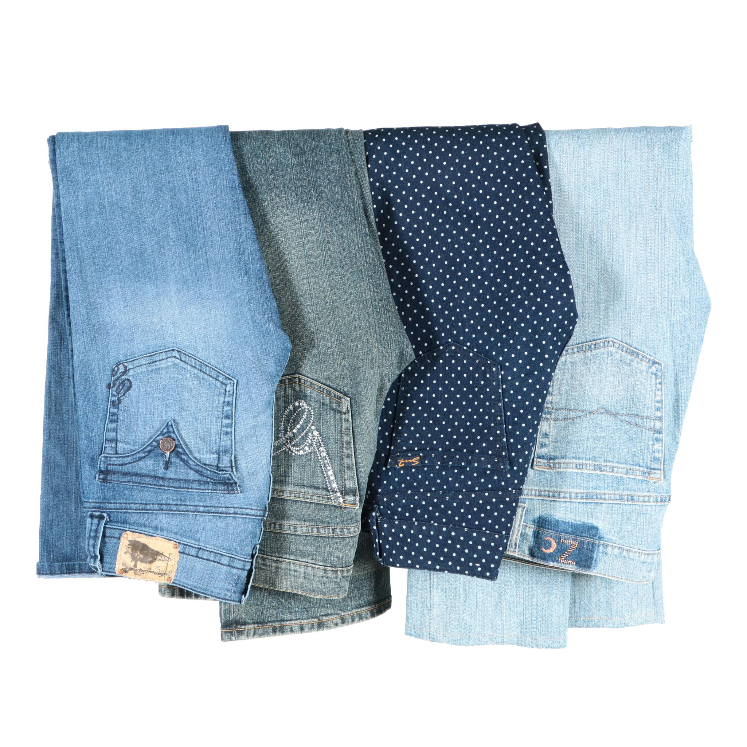 Women's Jeans Including Seven Jeans