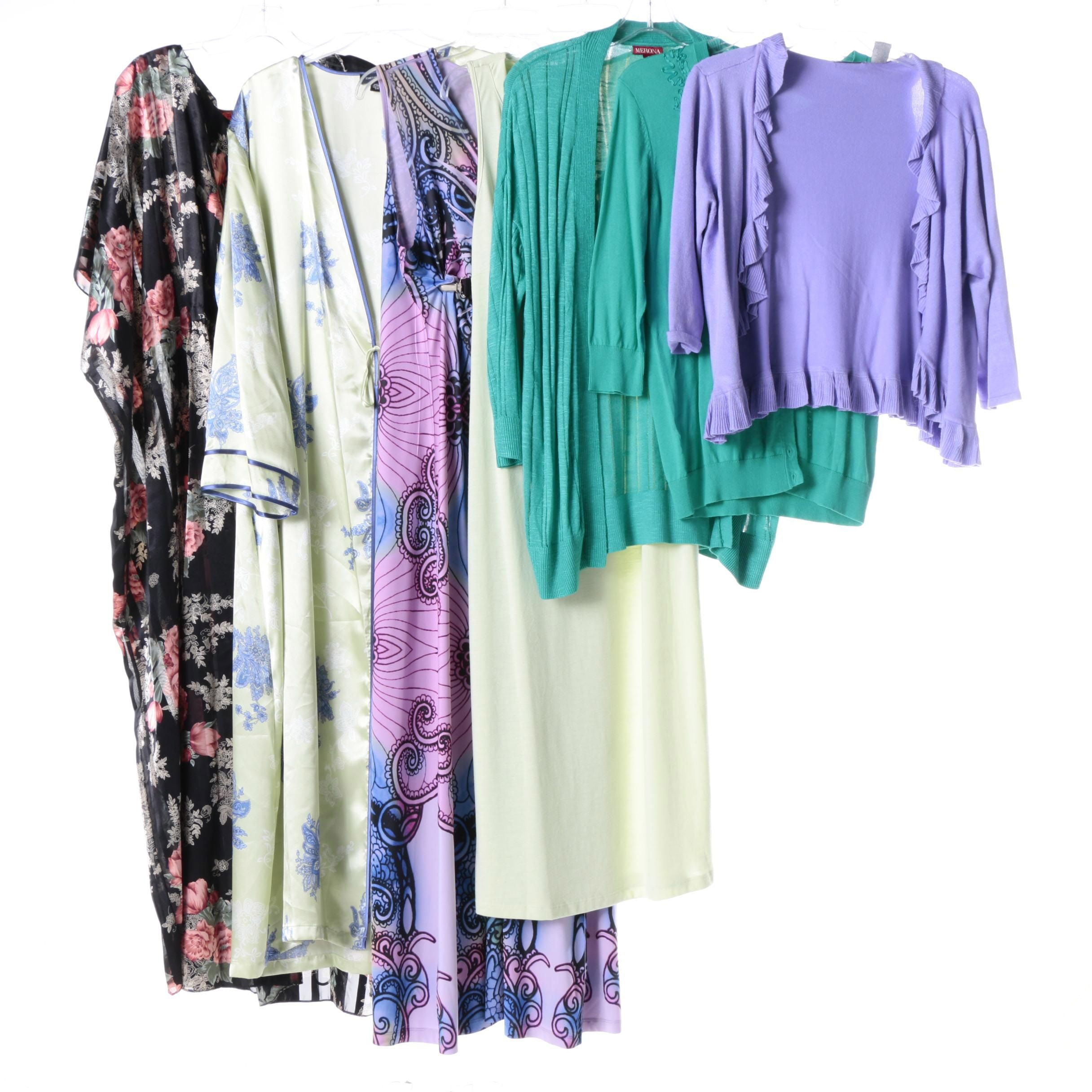 Women's Cardigans, Nightgowns and Loungewear
