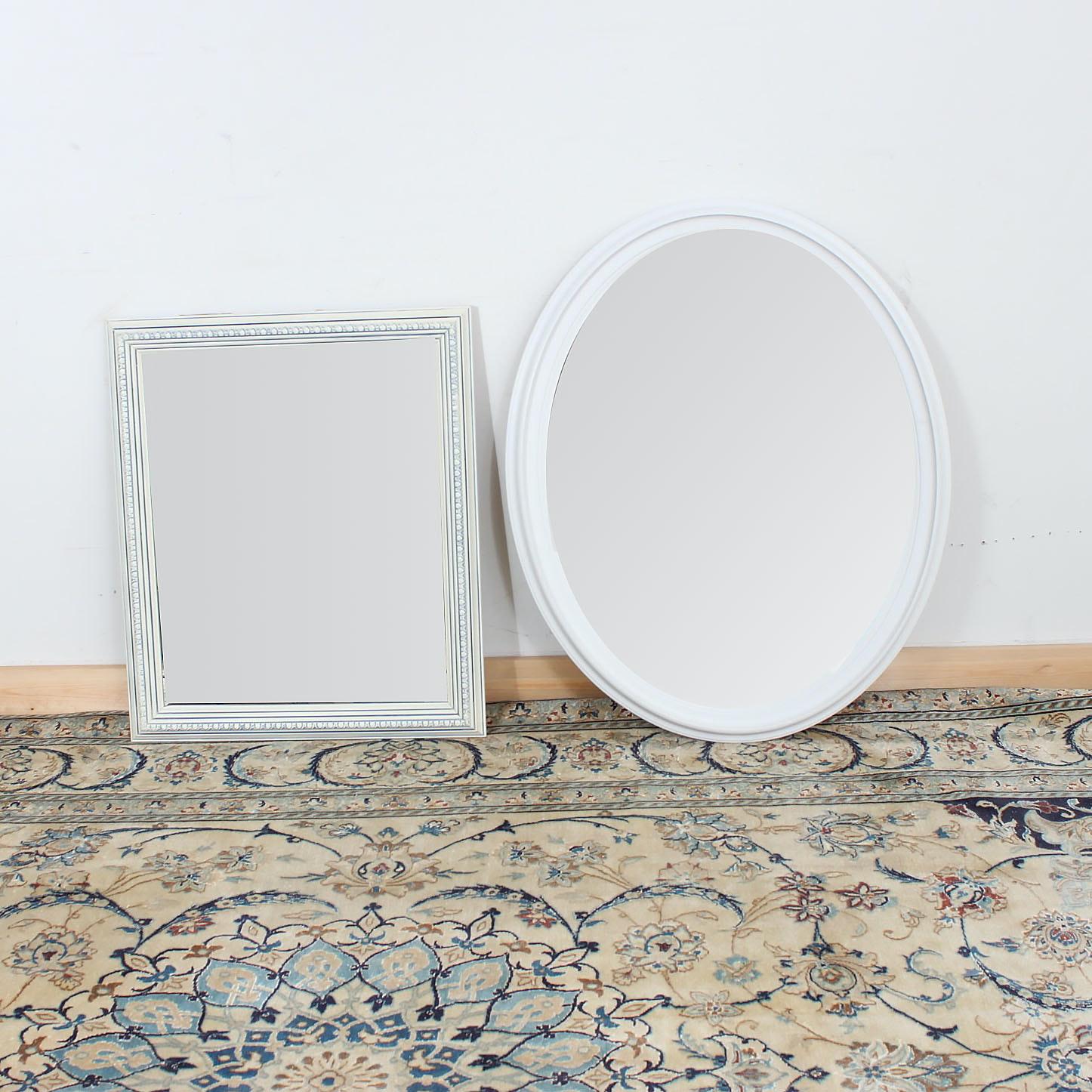 Wood Framed Wall Mirrors