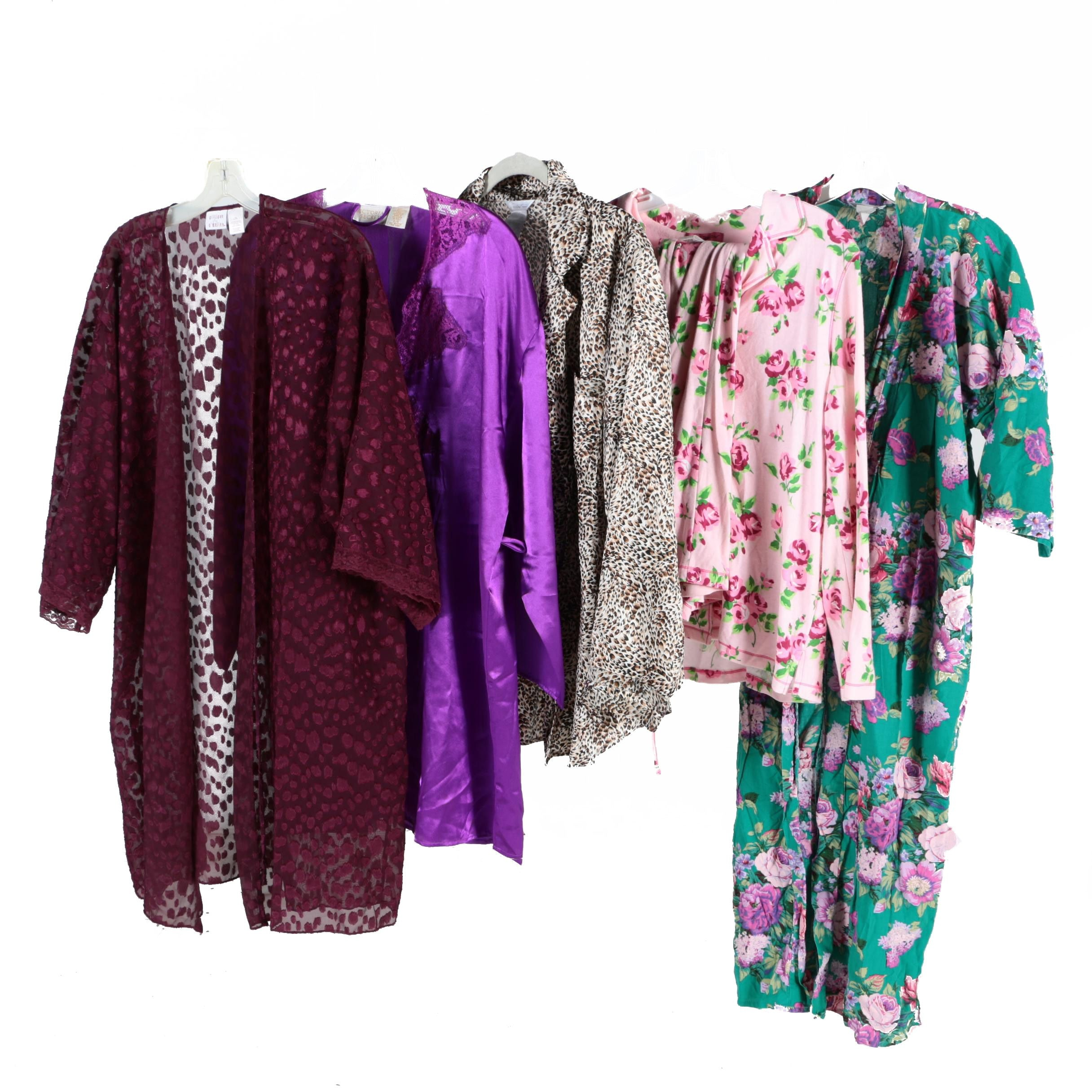 Sleepwear Including Betsey Johnson and Victoria's Secret