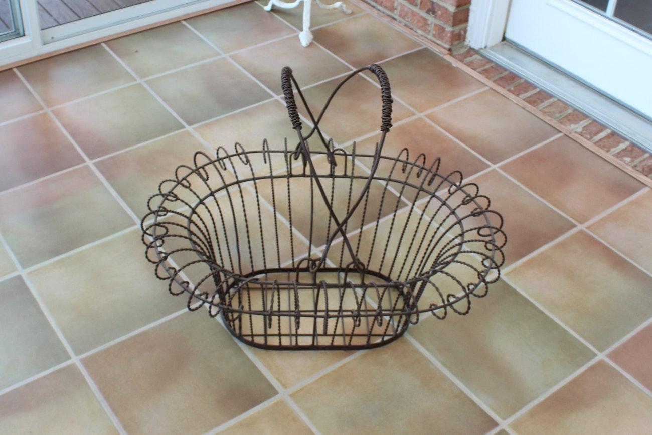 Decorative Metal Basket