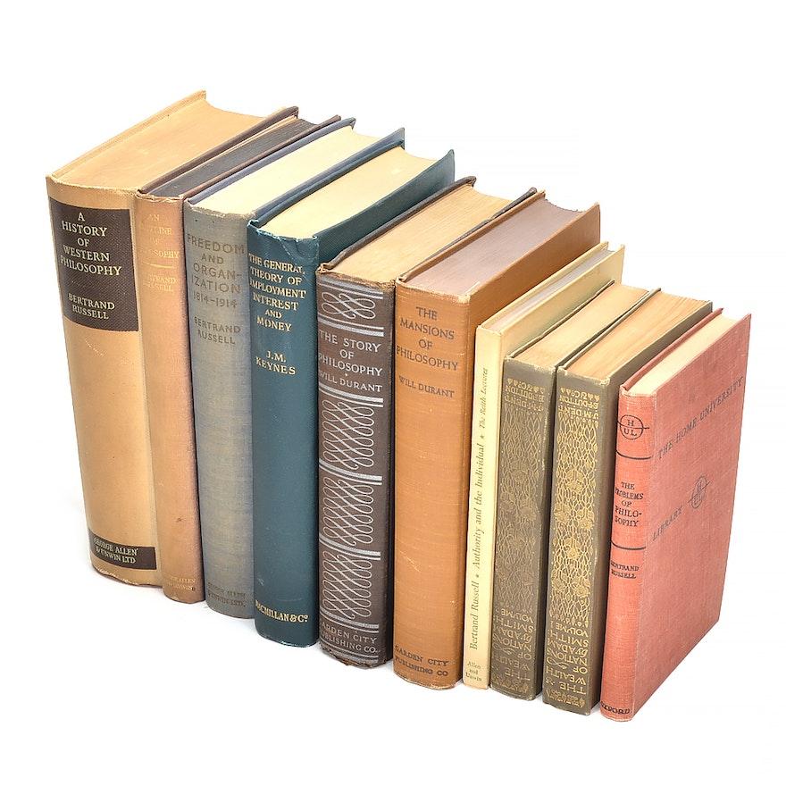 Vintage Economics And Philosophy Books