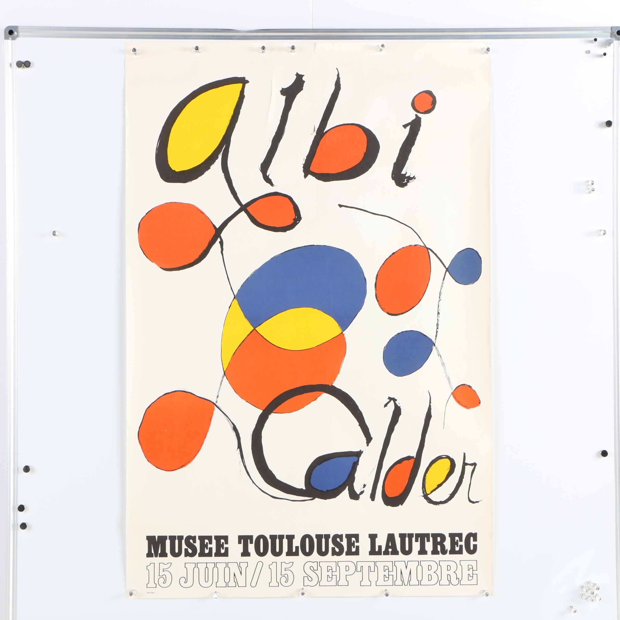 1971 Albi-Calder Musée Toulouse Lautrec Poster
