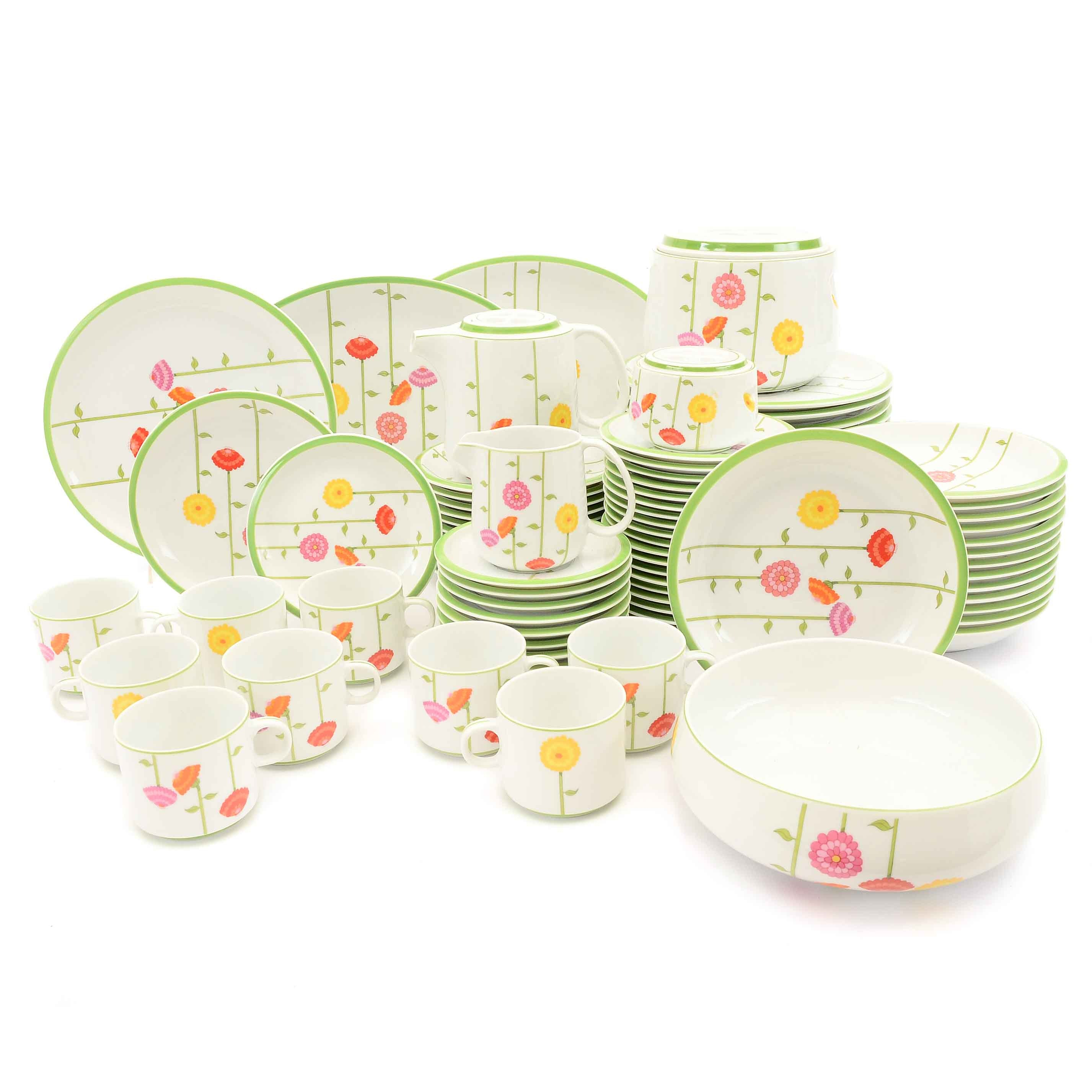 "Denby Fine China ""Contrariwise""Dinnerware"