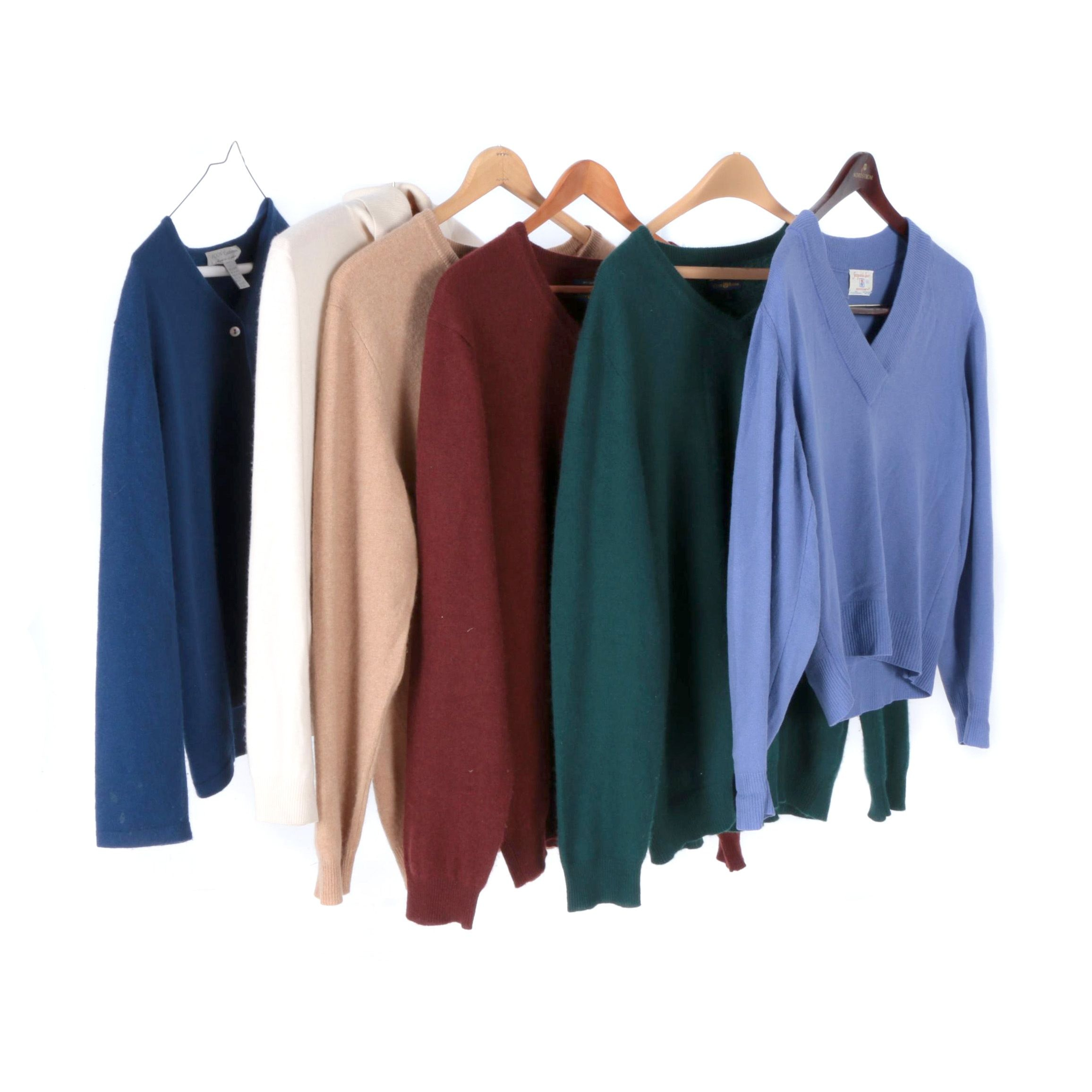 Women's and Men's Cashmere Sweaters Including Club Room