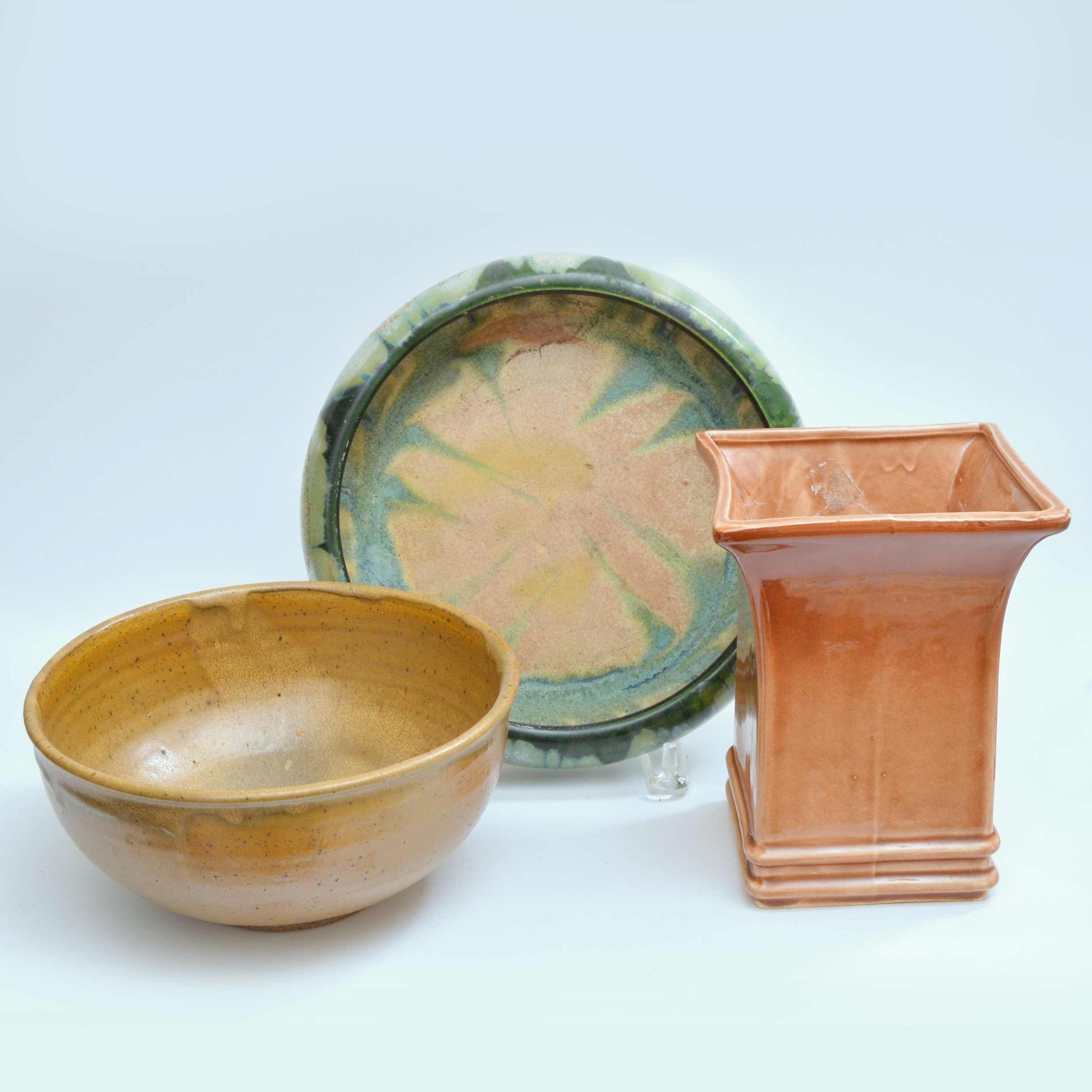 Vintage Hand Thrown and Molded Pottery with RRP