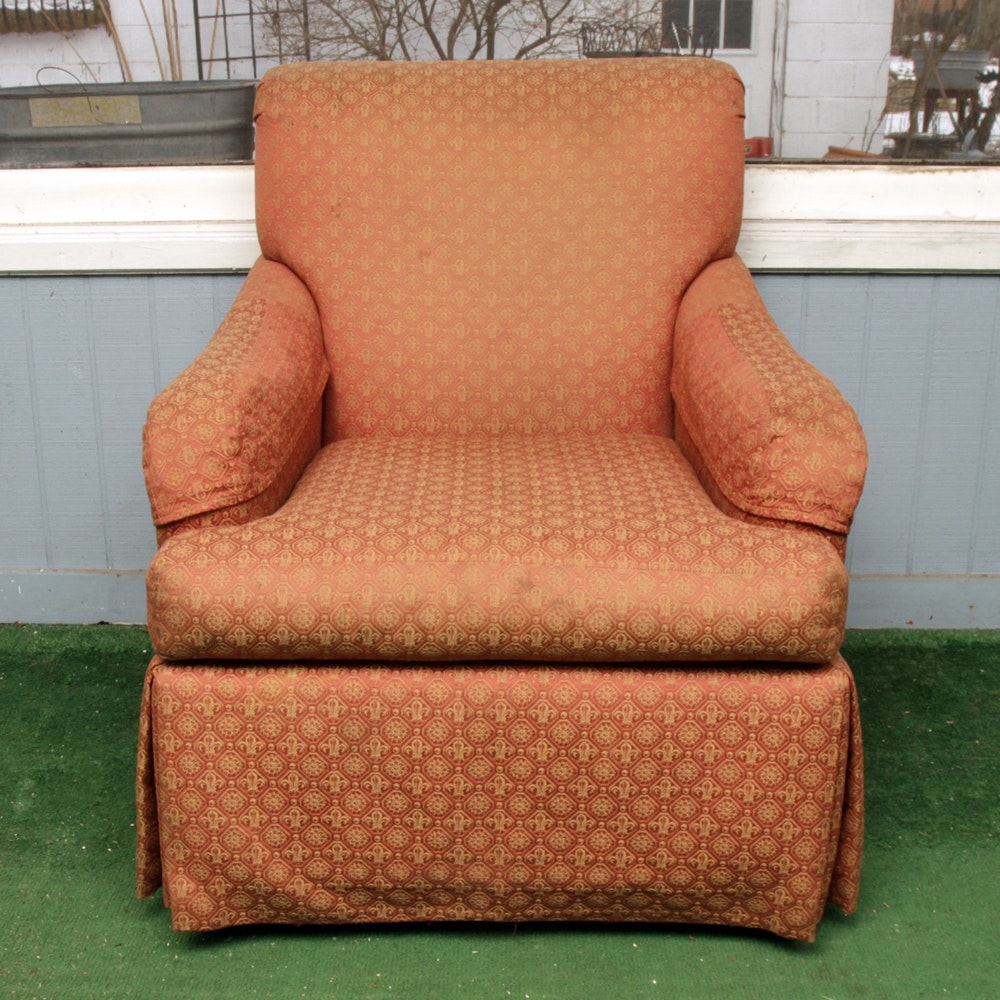 Vintage Upholstered Armchair by Pearson