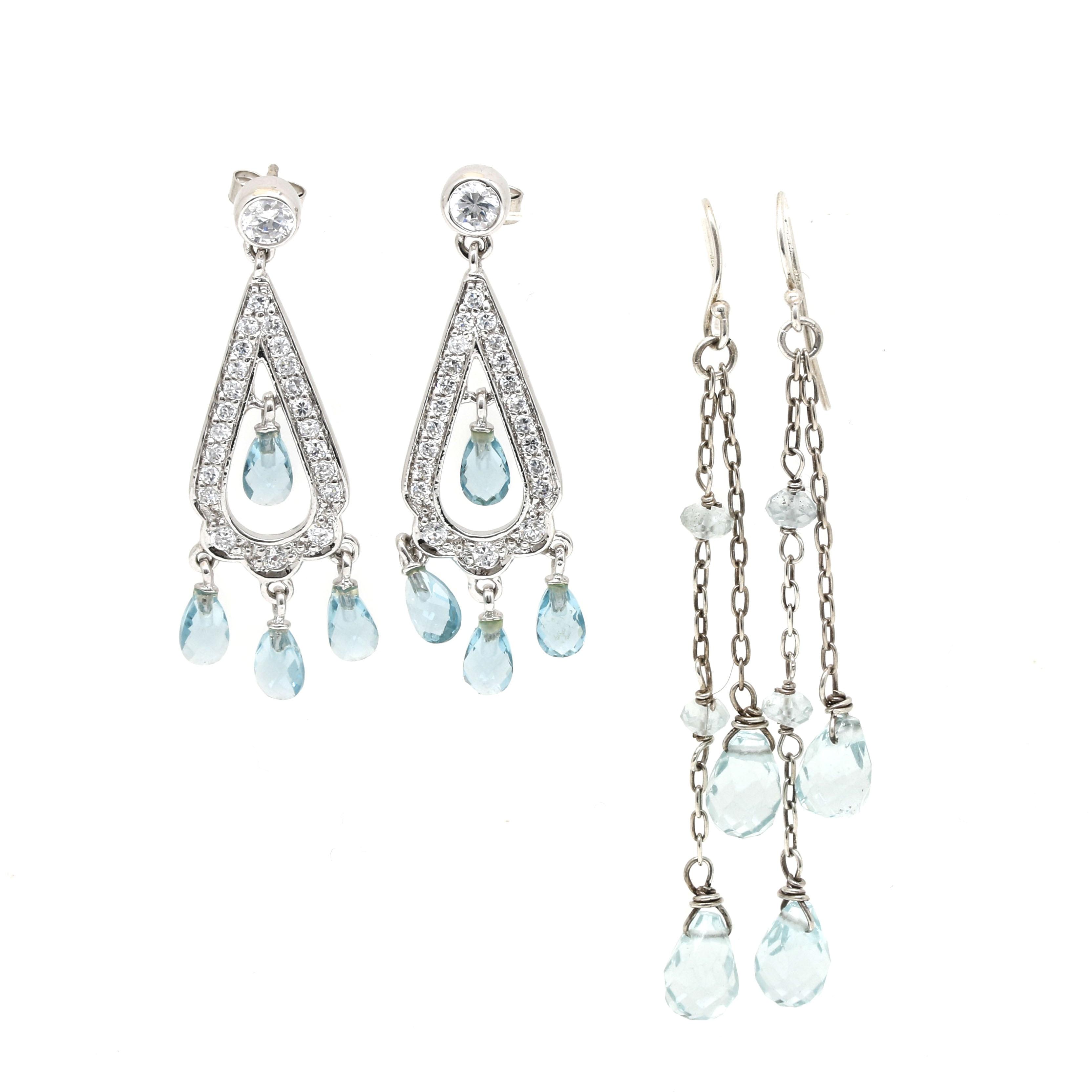 Sterling Silver Earring Assortment