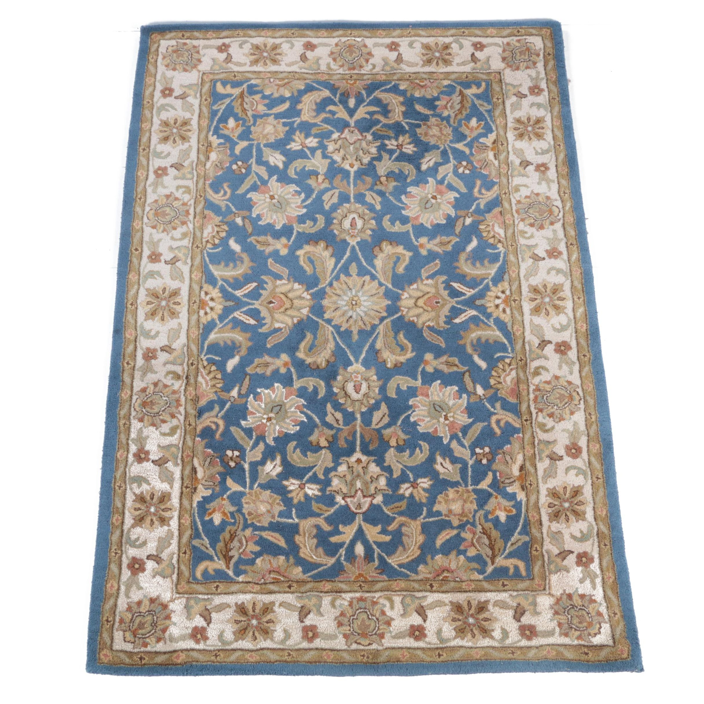 Hand-Tufted Kaleen Indo-Persian Area Rug