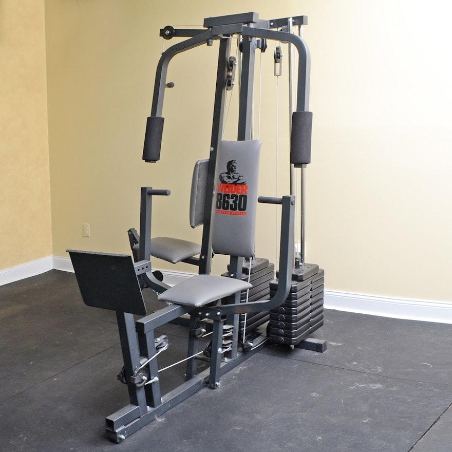 Weider home gym ebth