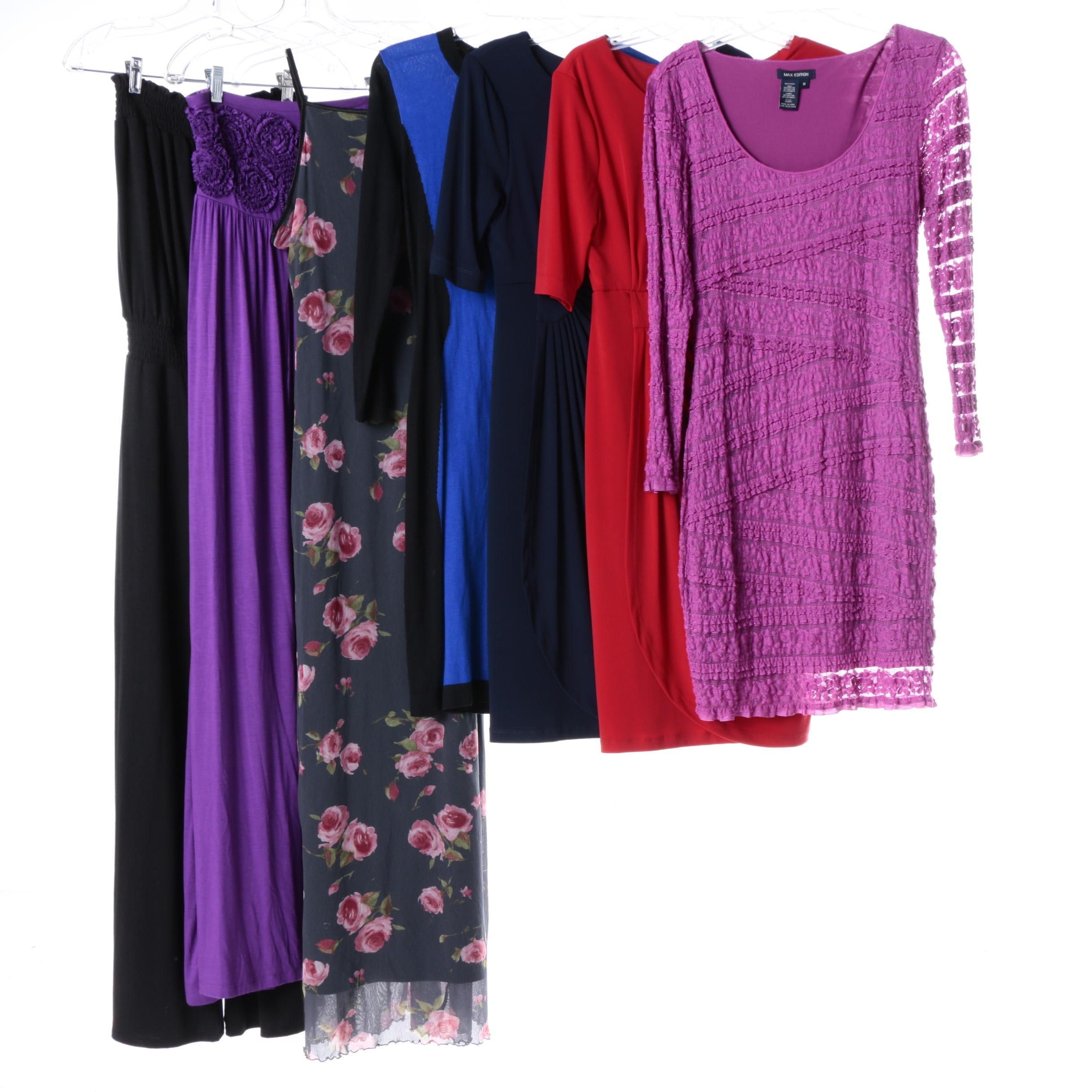 Women's Dresses Including Connected