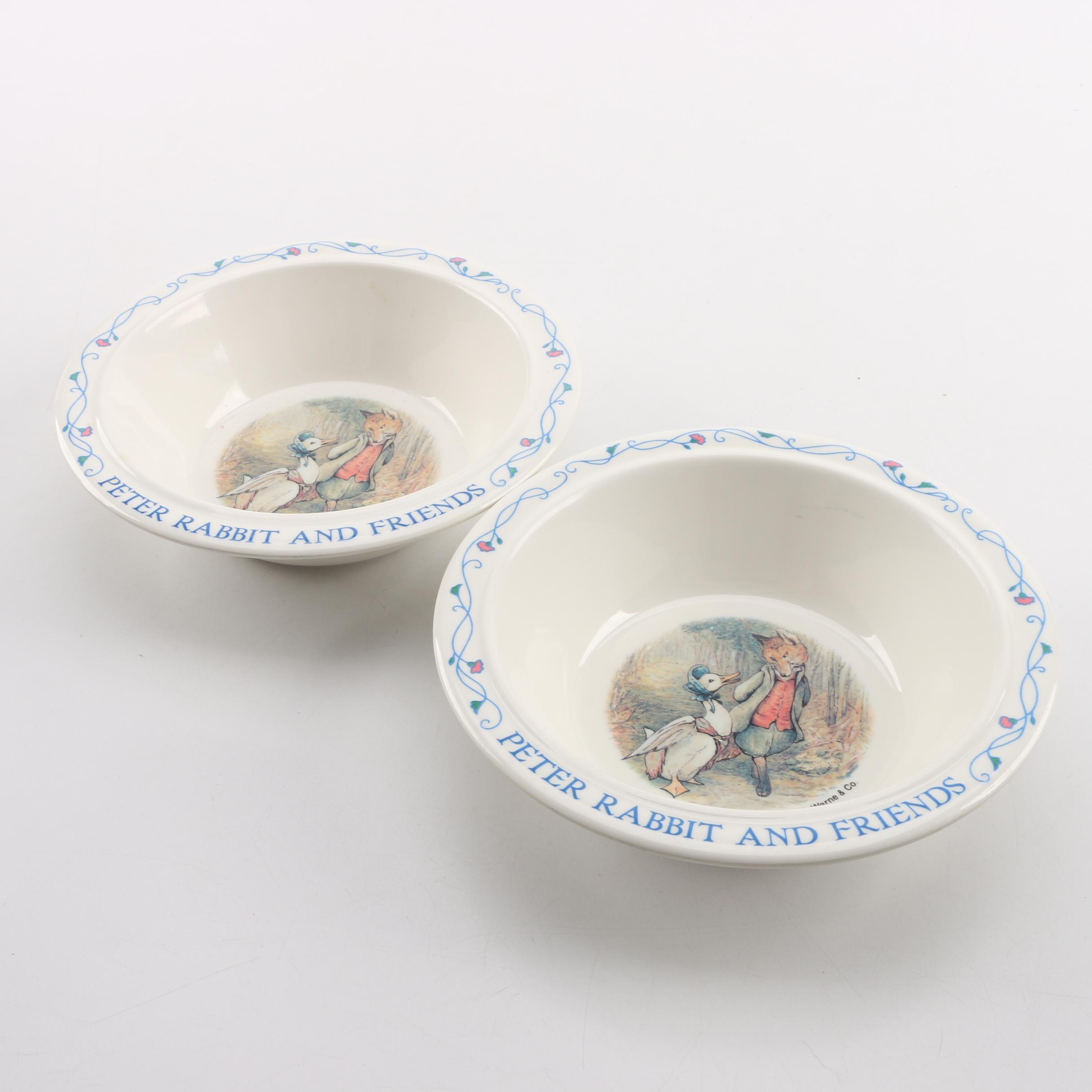 "Eden ""Peter Rabbit"" Bowls"