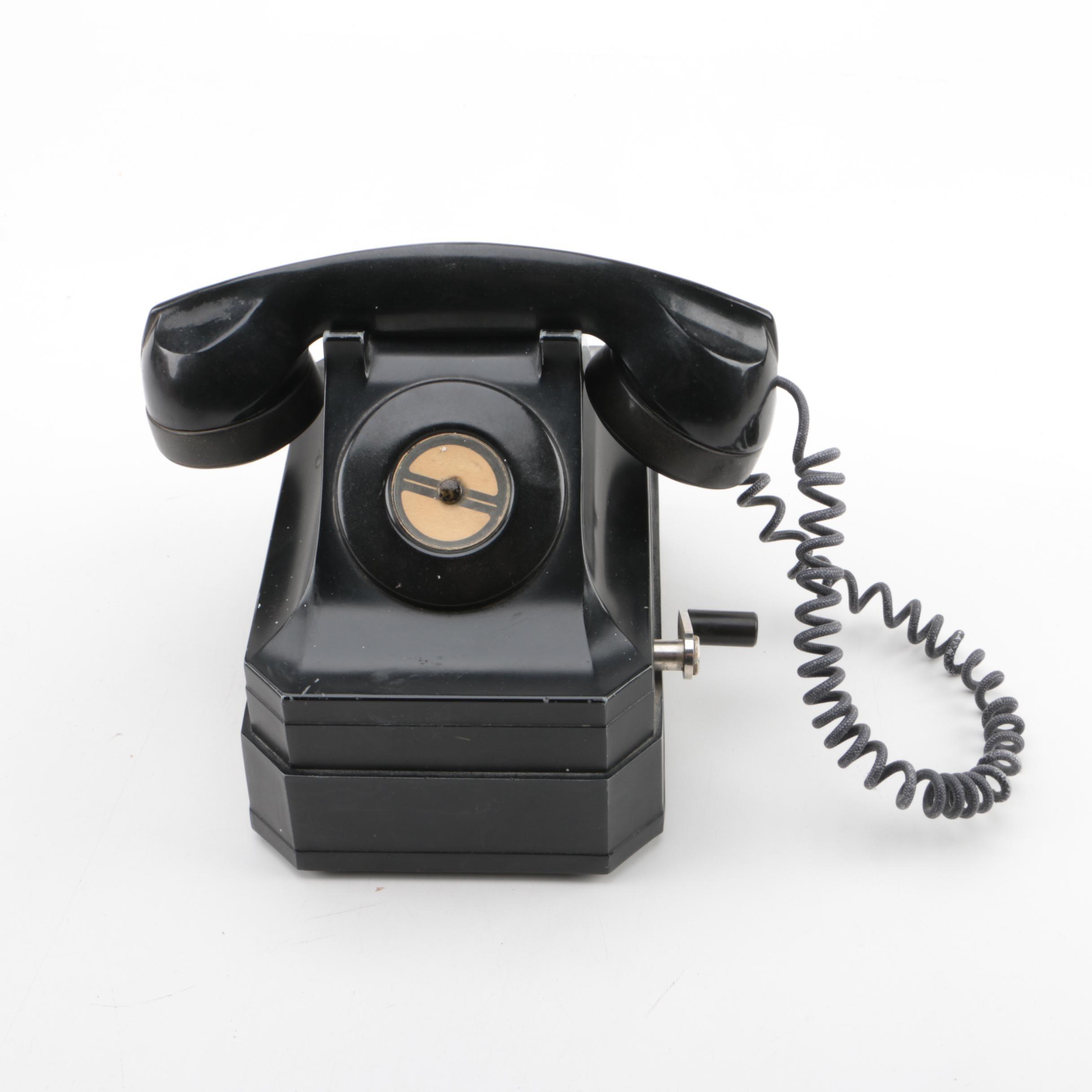 Vintage Stromberg Carlson Crank Telephone