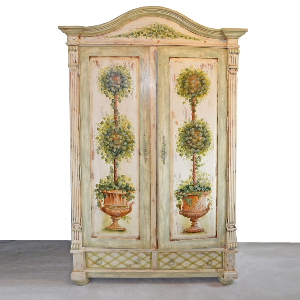 Provincial Style Painted Wardrobe