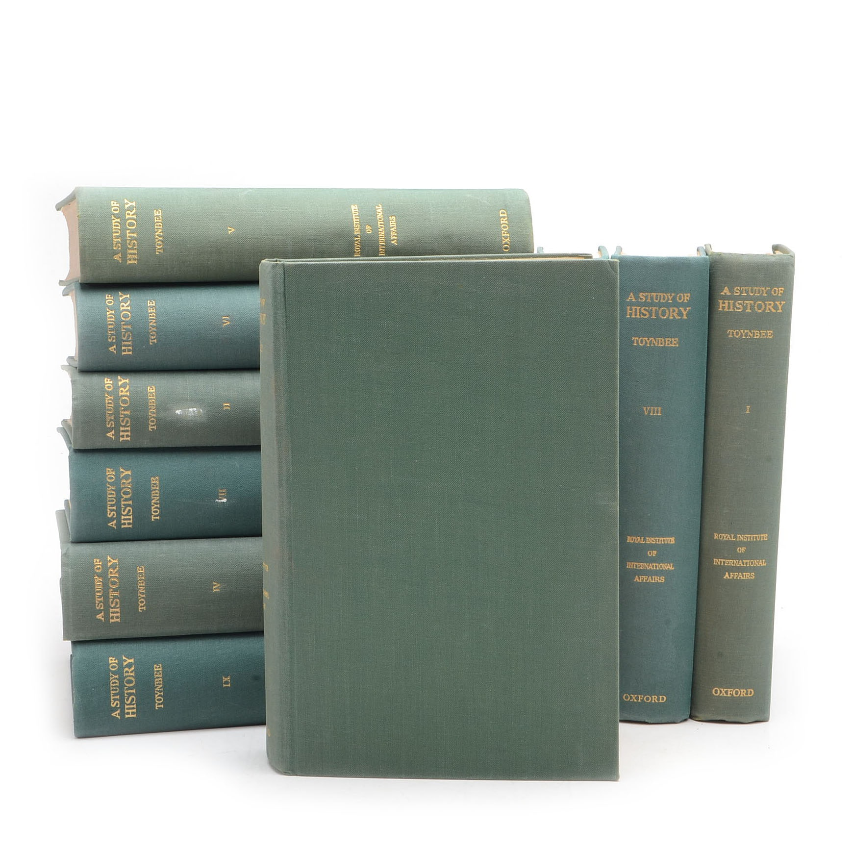 Collection of Arnold Toynbee History Books