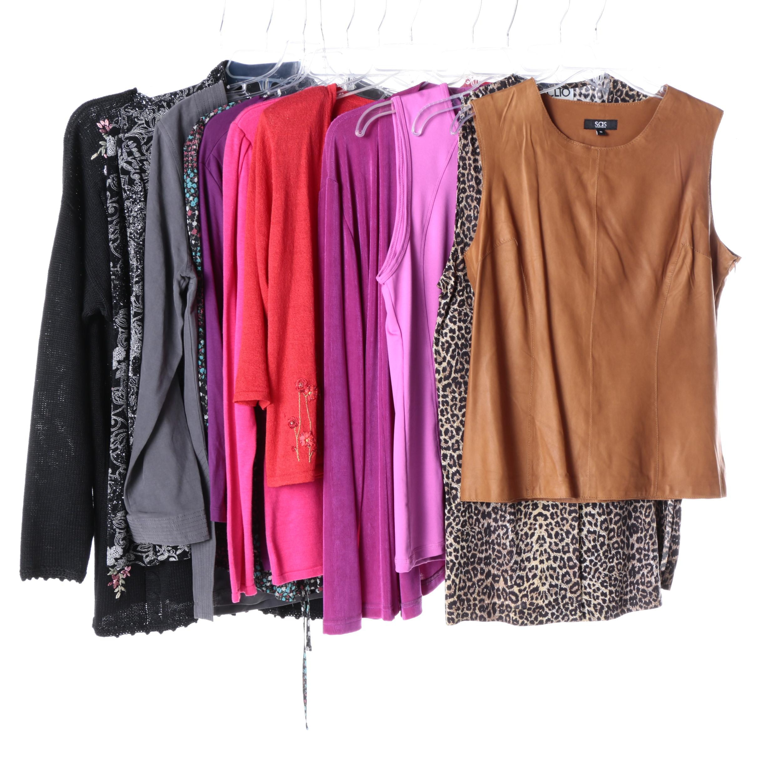 Women's Clothing Including Cable & Gauge