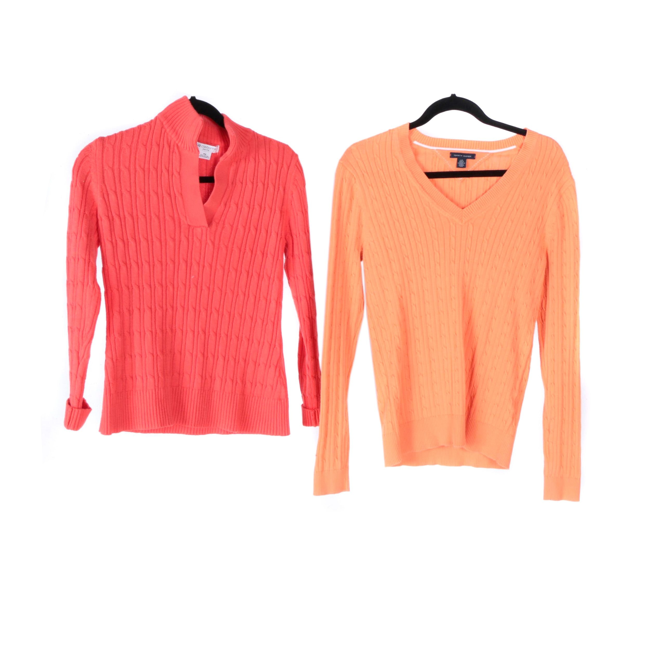 Women's Liz Claiborne and Tommy Hilfiger Sweaters