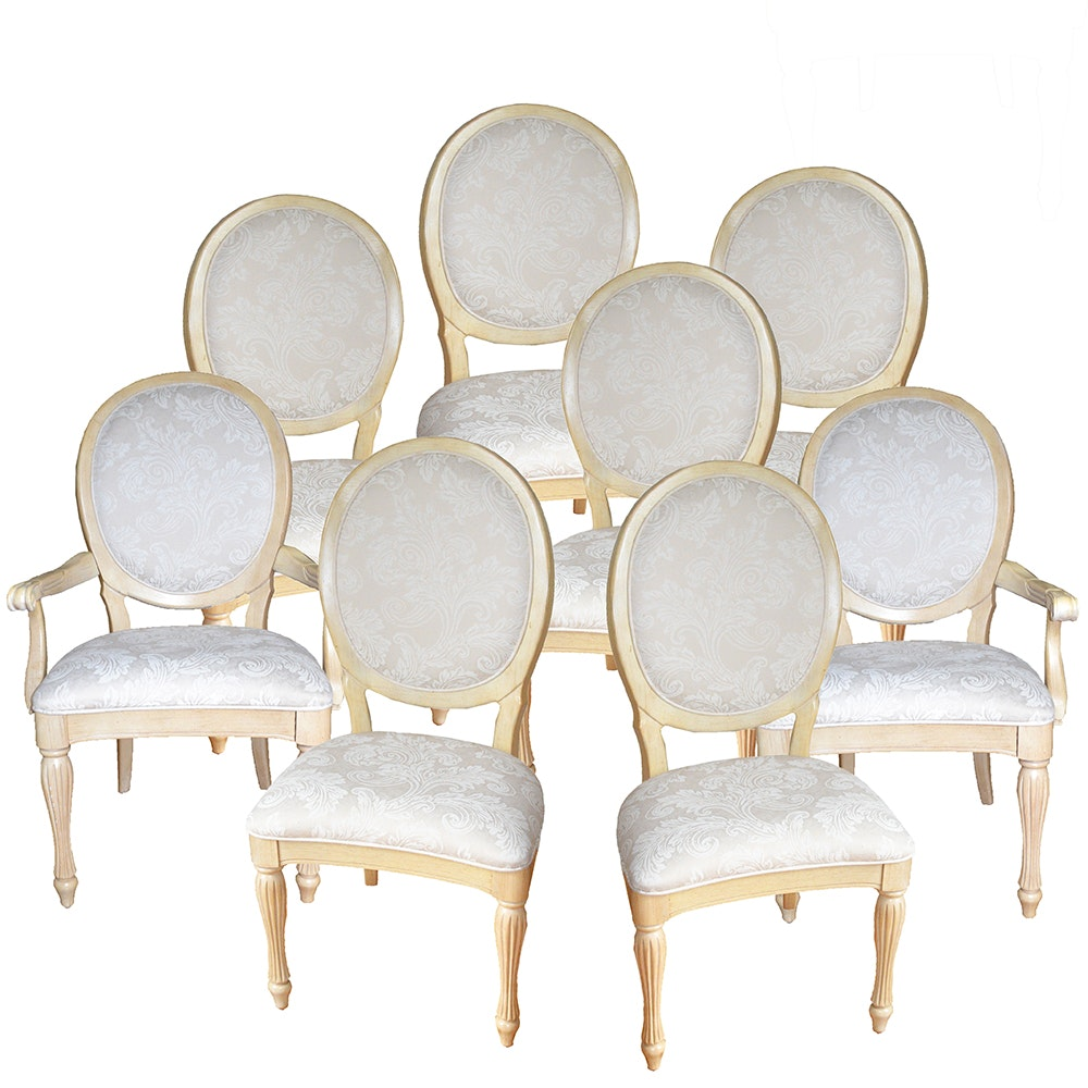 French Provincial Style Dining Chairs by Bernhardt