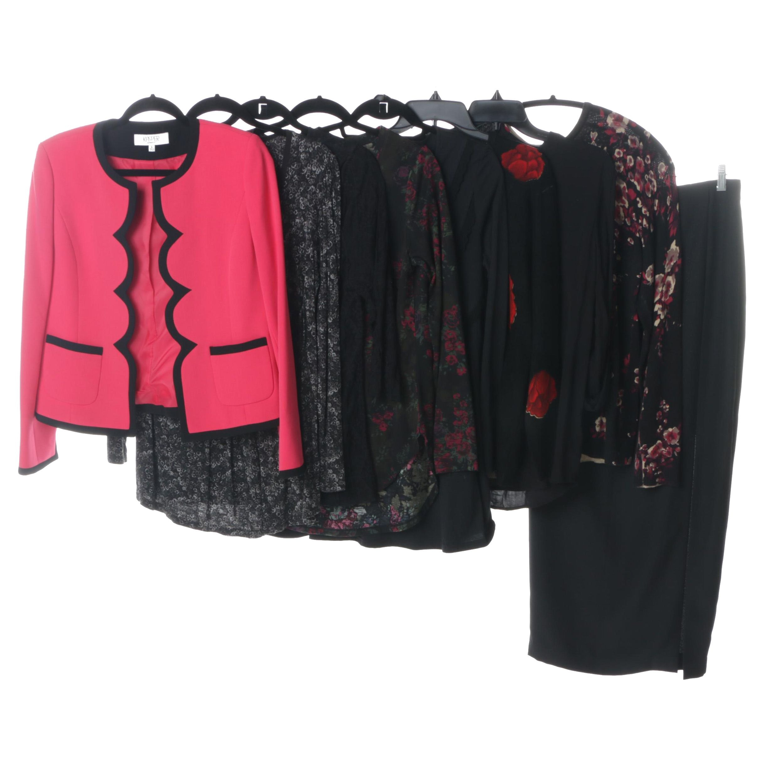 Women's Tops and Skirt Including Liz Claiborne and Ellen Tracy