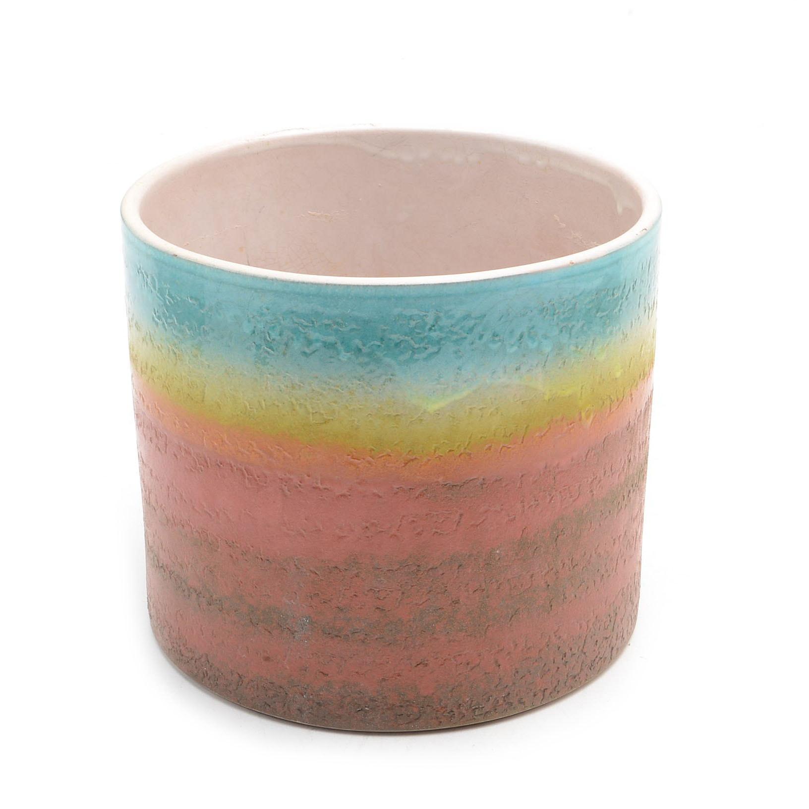 Vintage Italian Ceramic Crock