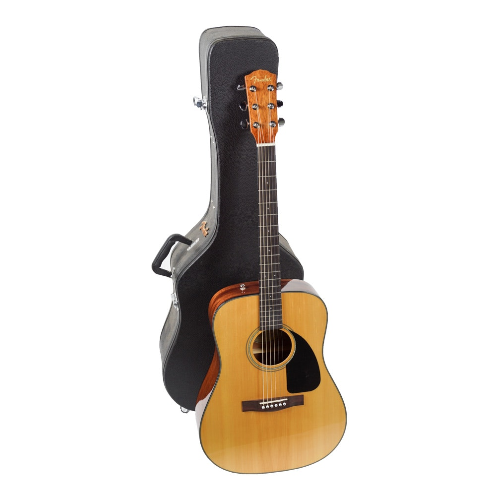 Fender CD-60 Dreadnought-Style Acoustic Guitar with Case