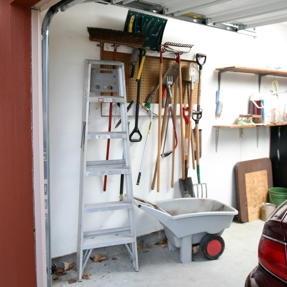 Assortment of Yard Tools