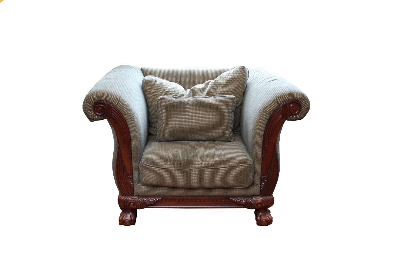 Oversized Upholstered Armchair by Klaussner Furniture