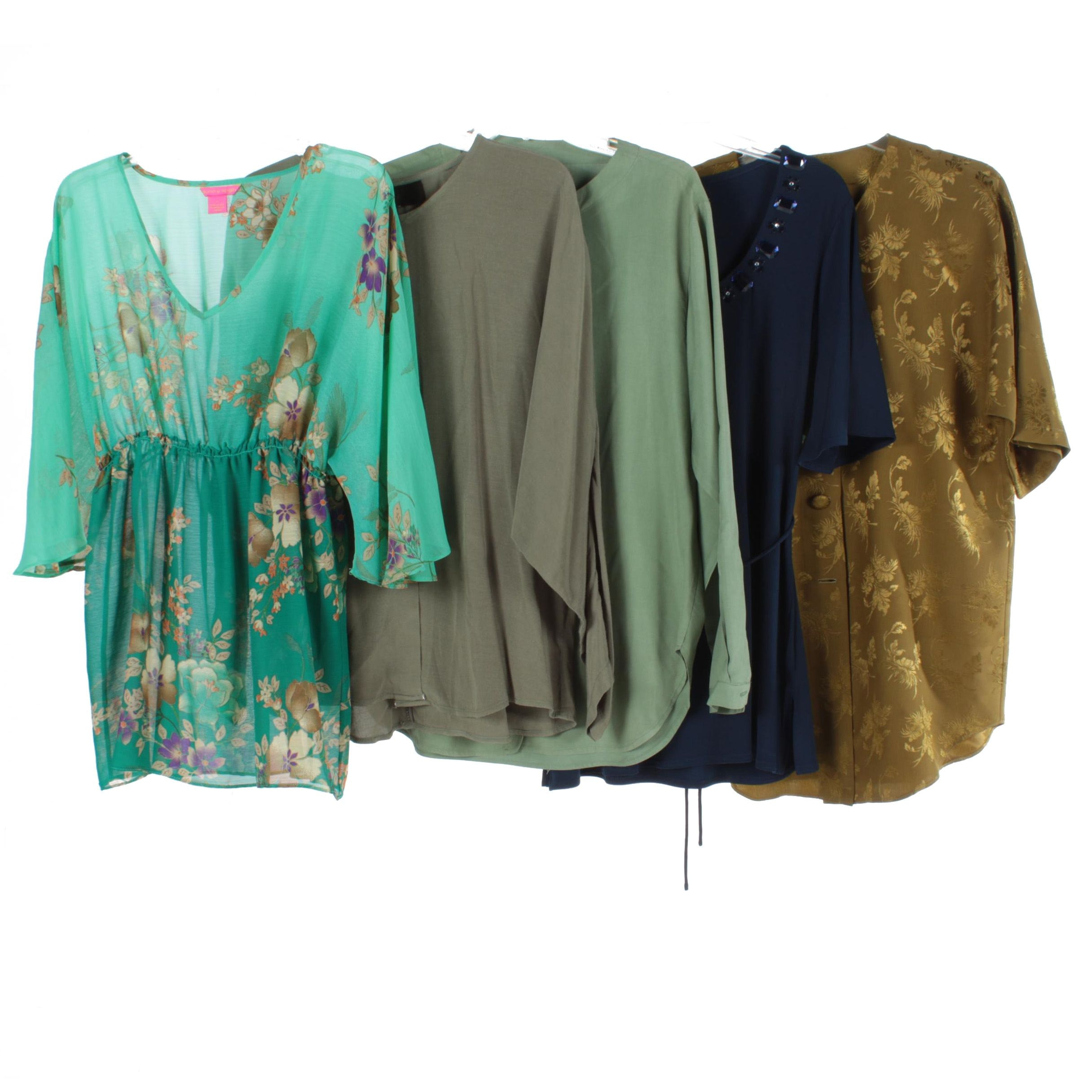 Women's Blouses Including Jaclyn Smith