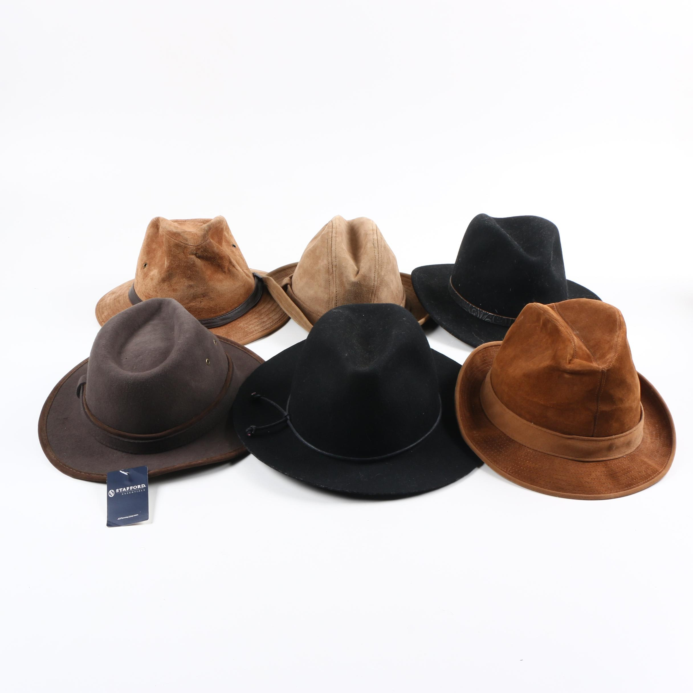 Men's Leather and Felt Hats
